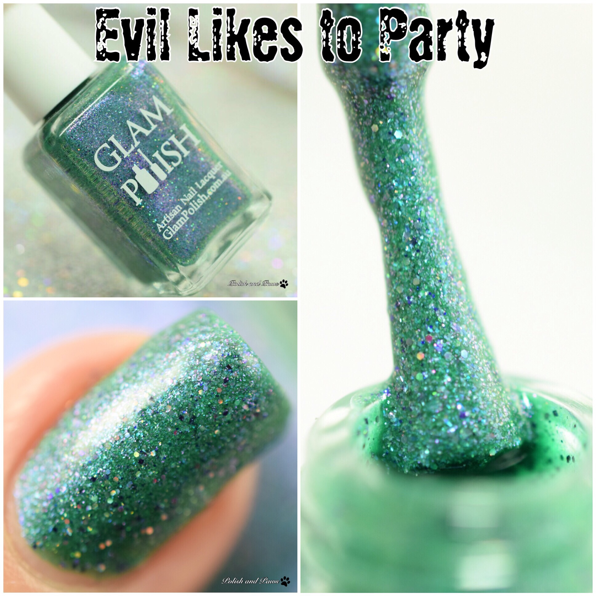 Glam Polish Evil Likes to Party