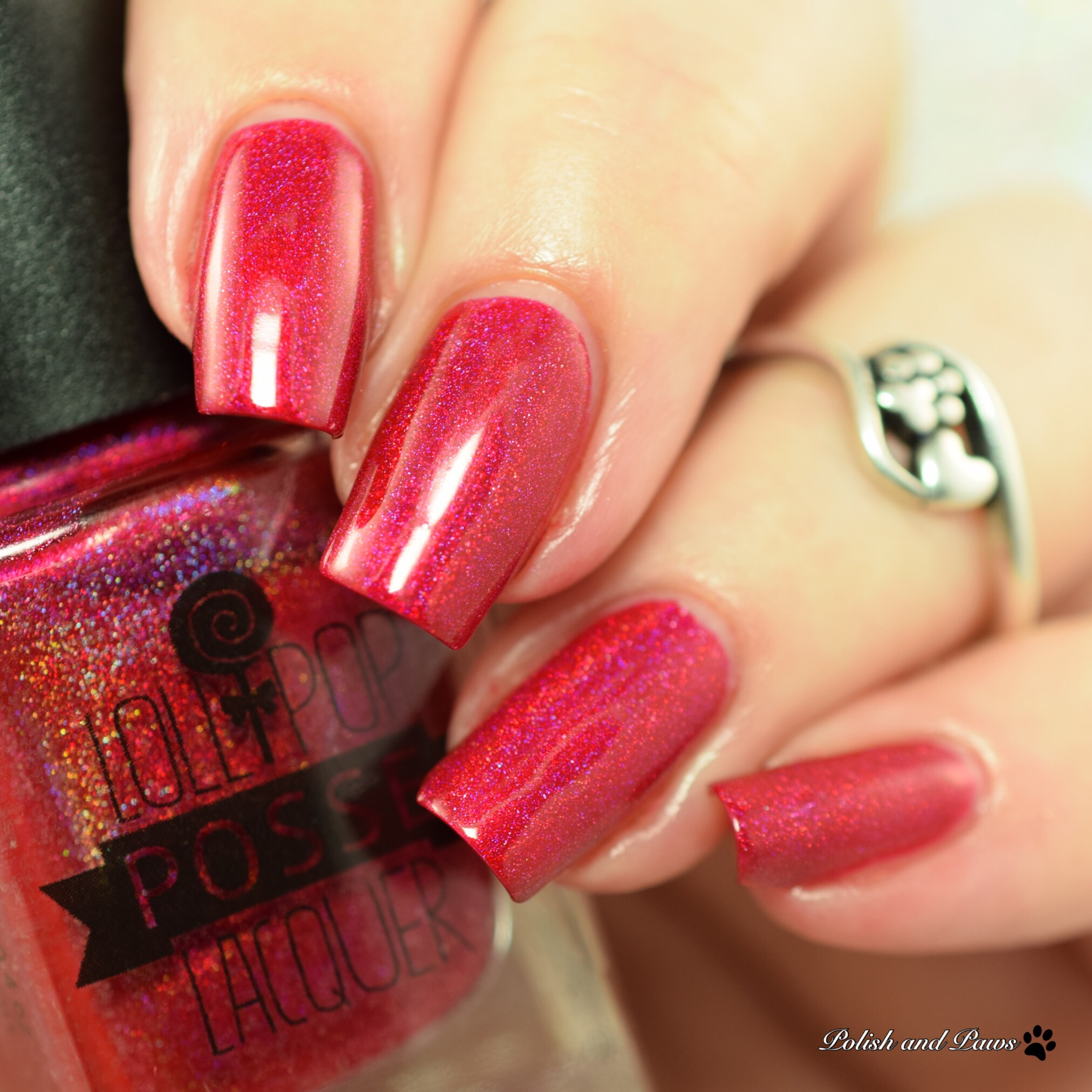 Lollipop Posse Lacquer I want my Scars to Show