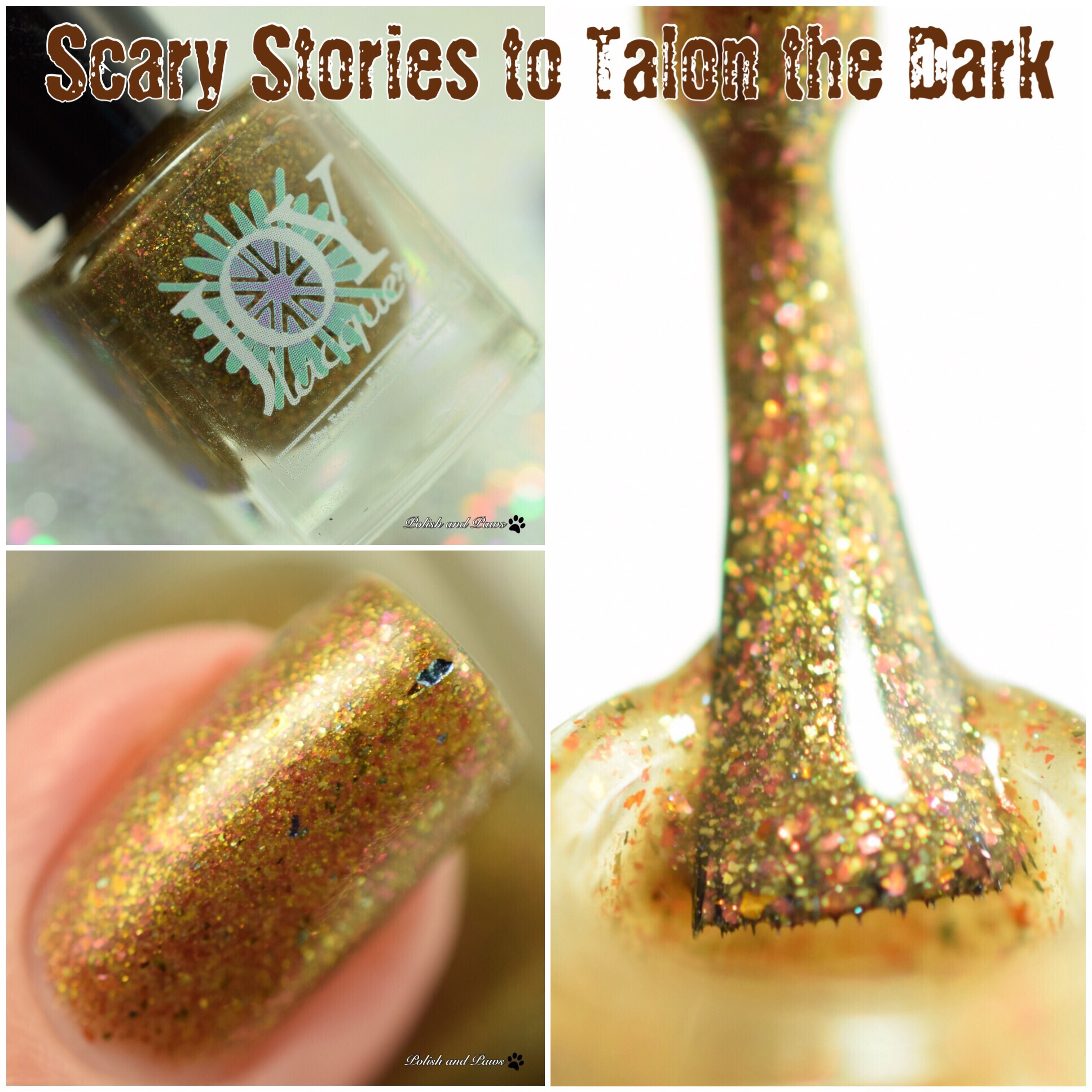 Joy Lacquer Scary Stories to Talon the Dark