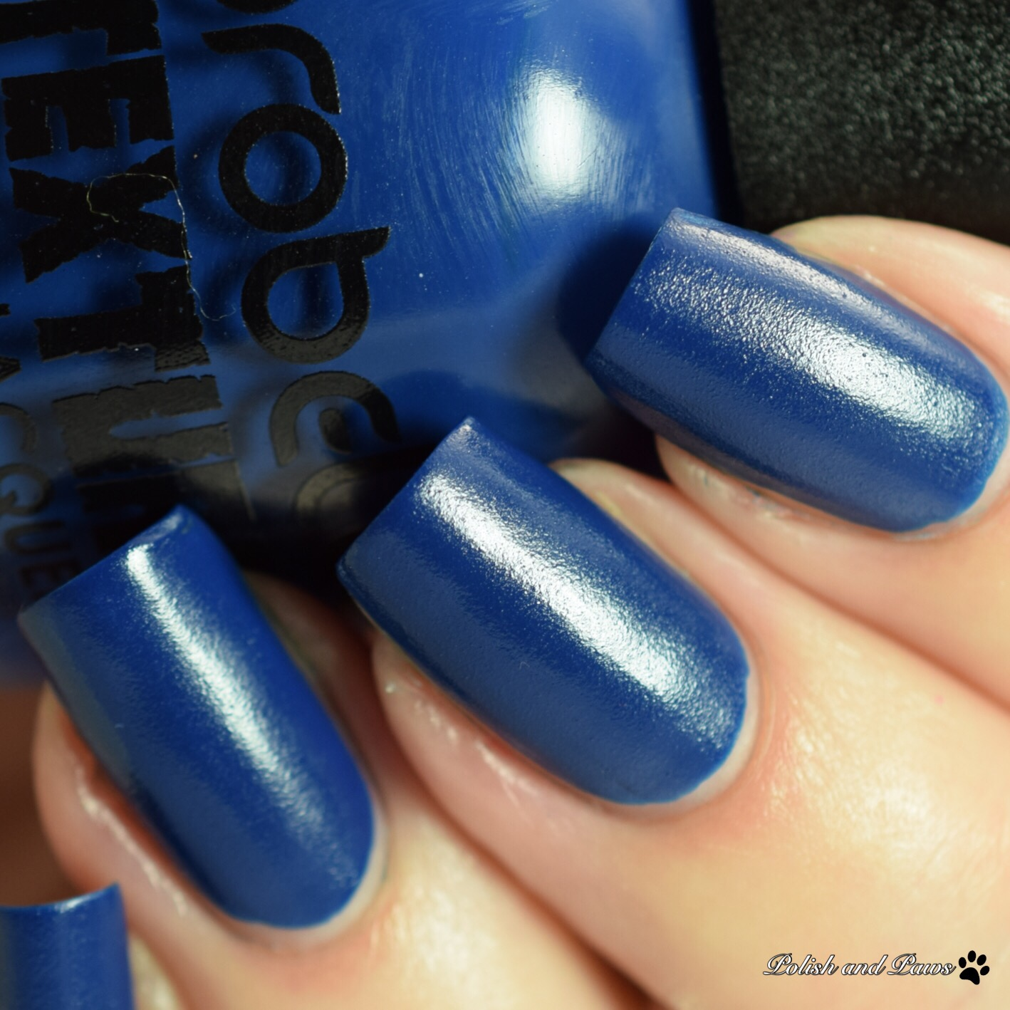 Probelle Textured Dark Blue