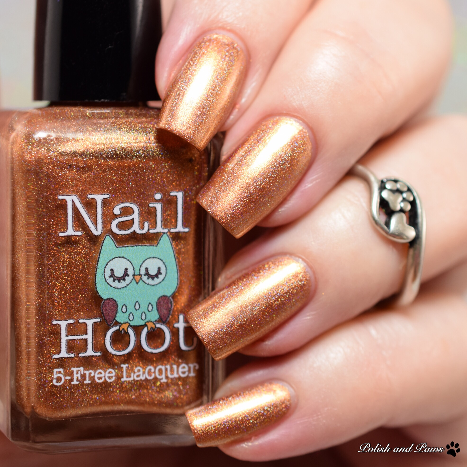 Nail Hoot November Topaz