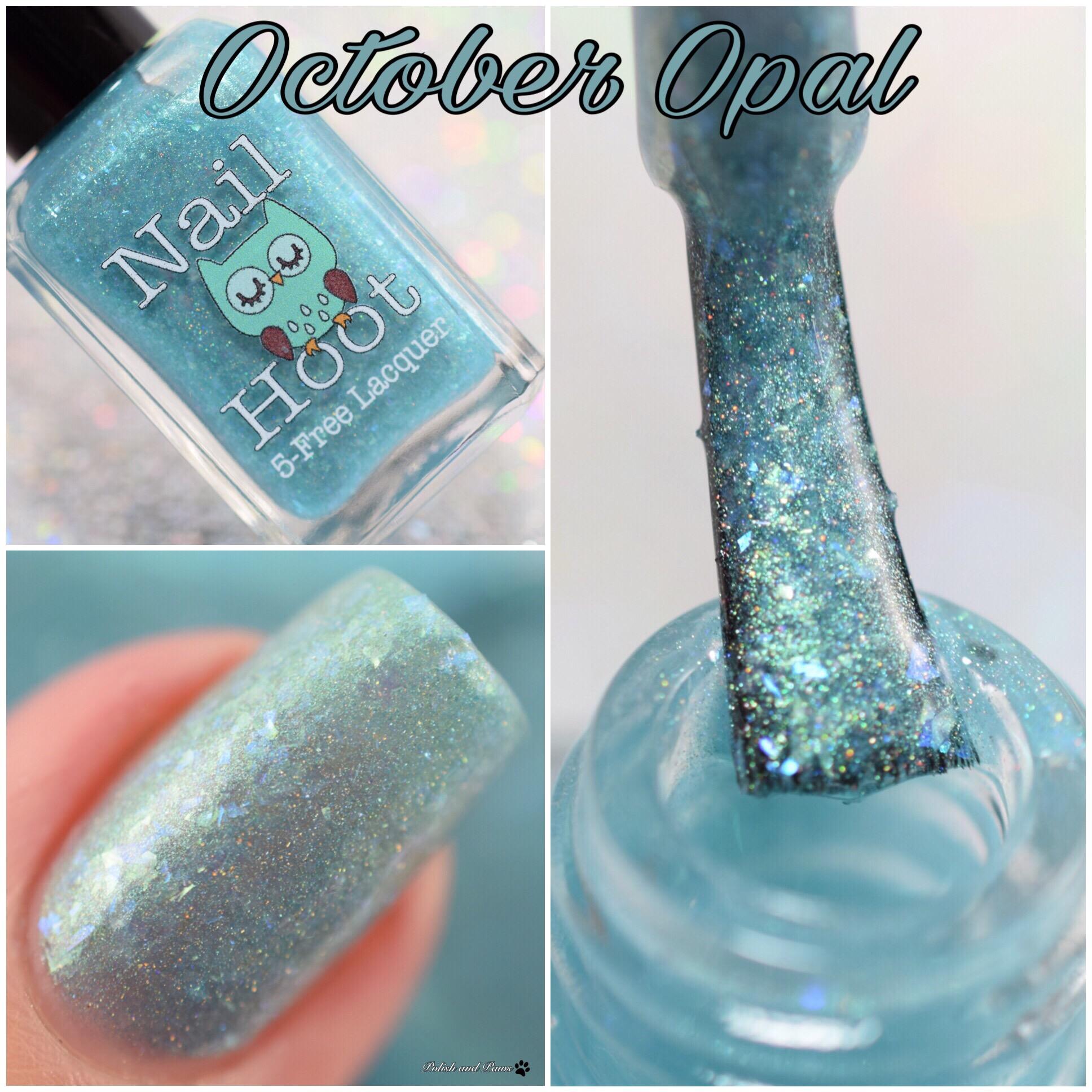 Nail Hoot October Opal