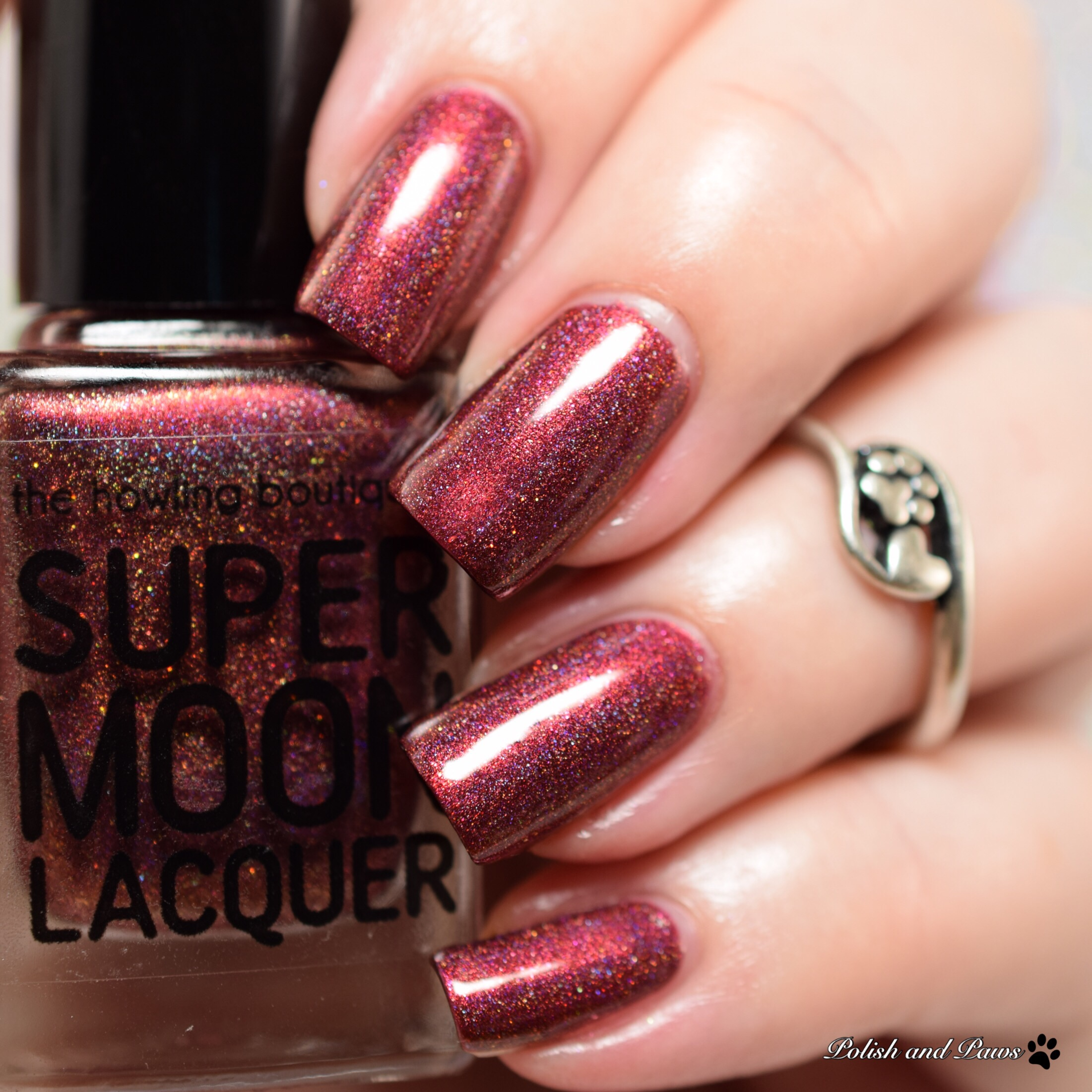 Supermoon Lacquer The Apple of Eve's Eye