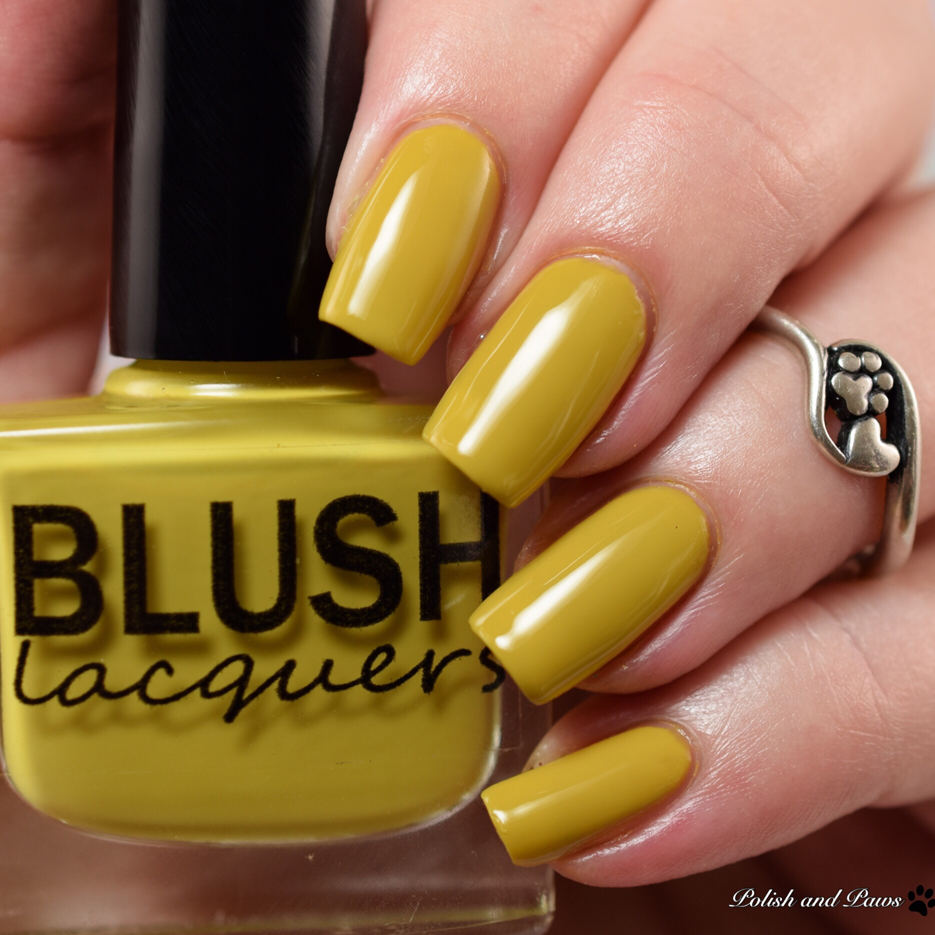 Blush Lacquers The Blind Banker