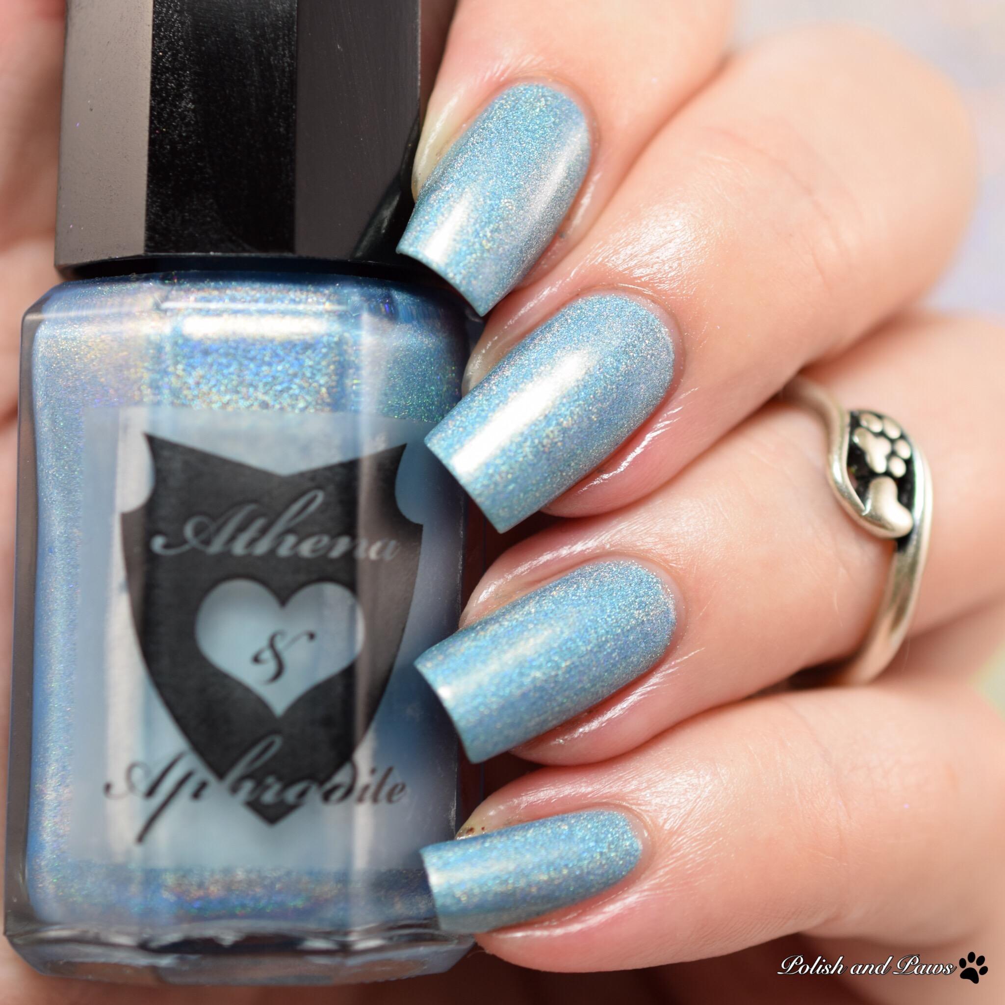 Athena & Aphrodite Mercury's Blue