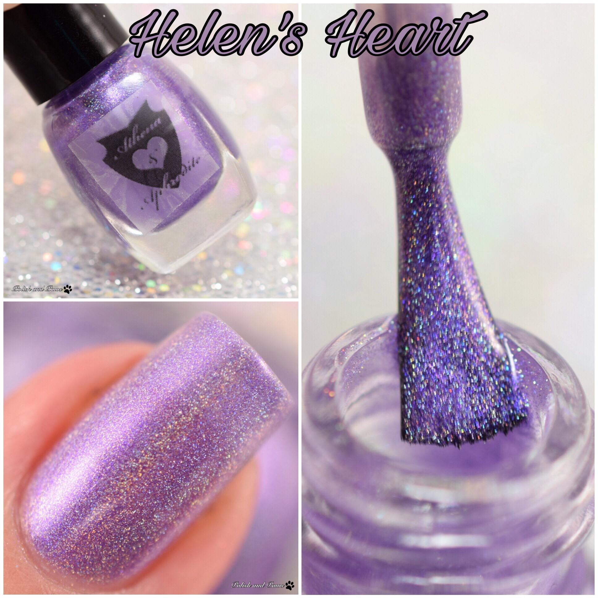 Athena & Aphrodite Helen's Heart