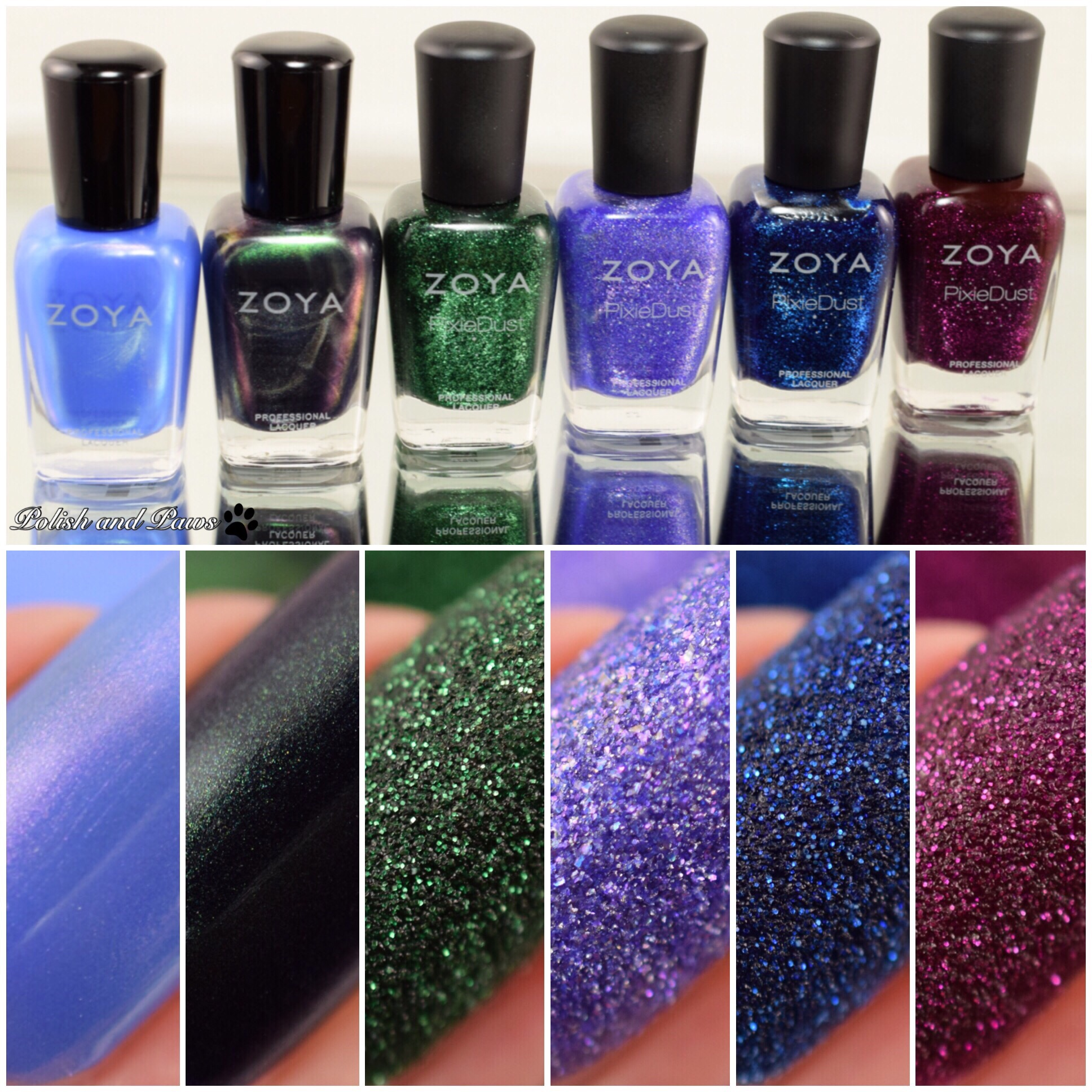 Zoya Enchanted Collection ~ Winter Holiday 2016 | Polish and Paws