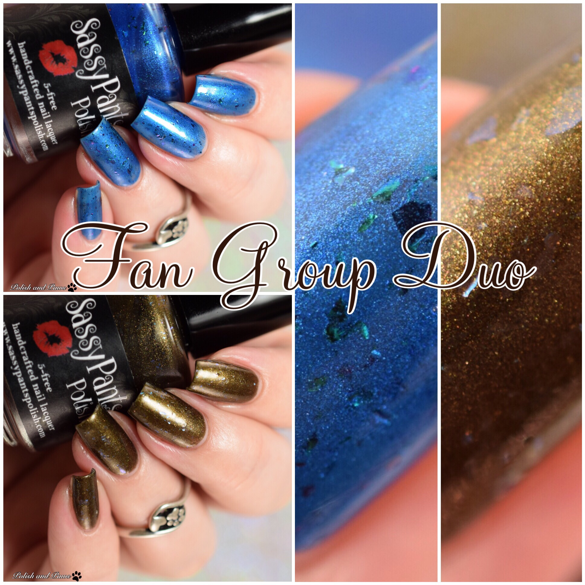 Sassy Pants Polish Fan Group Duo