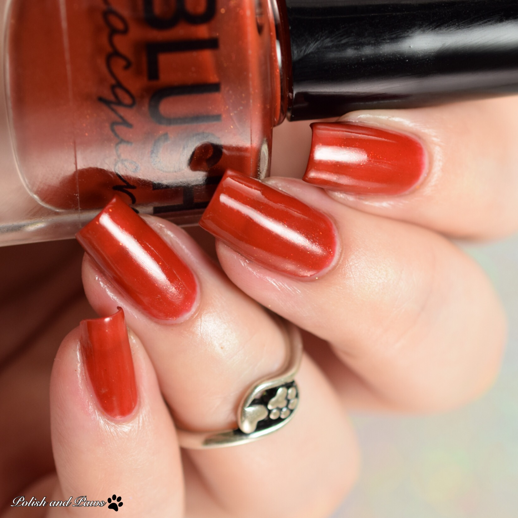 Blush Lacquers Rust-ic Beauty