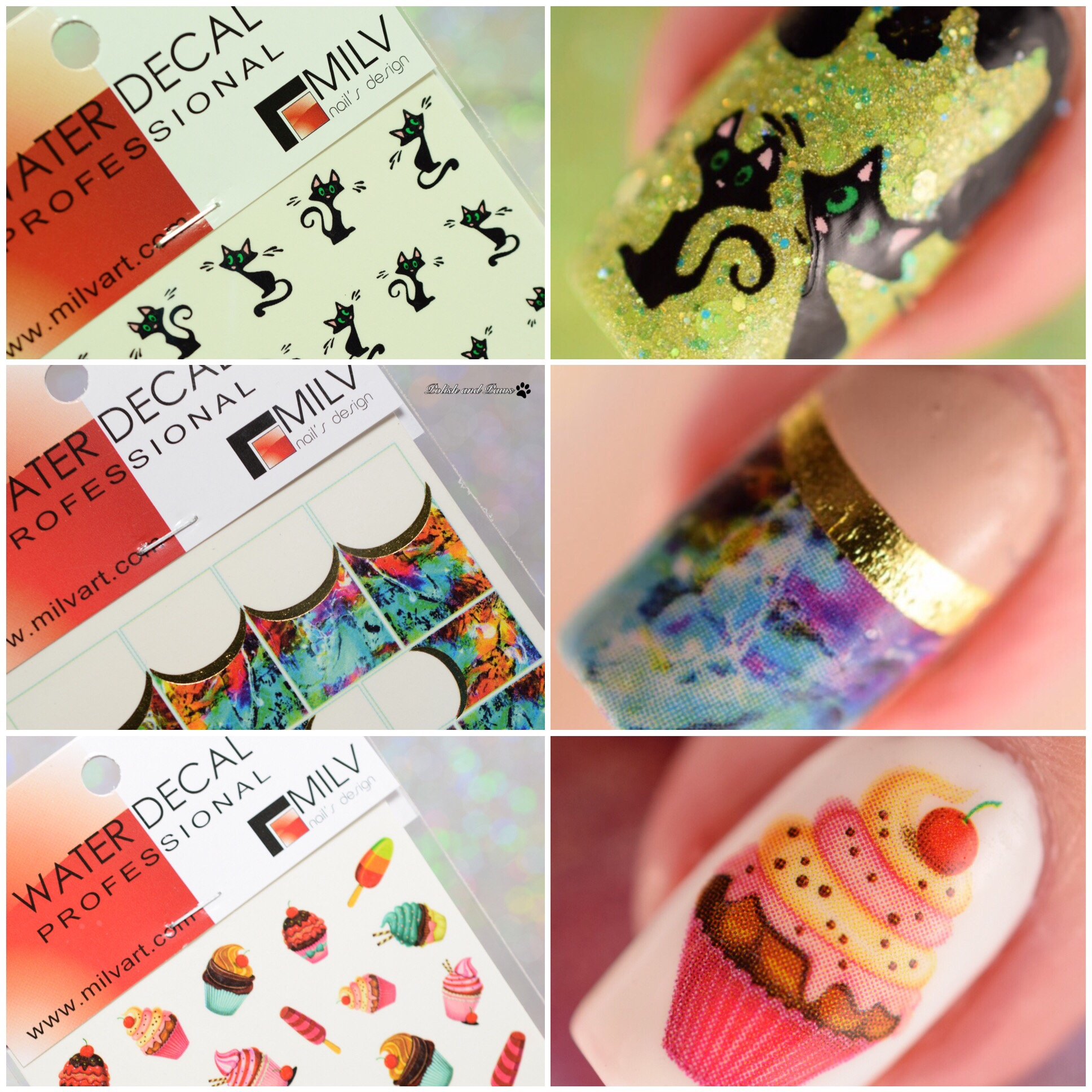 Polish and Paws Nail Art
