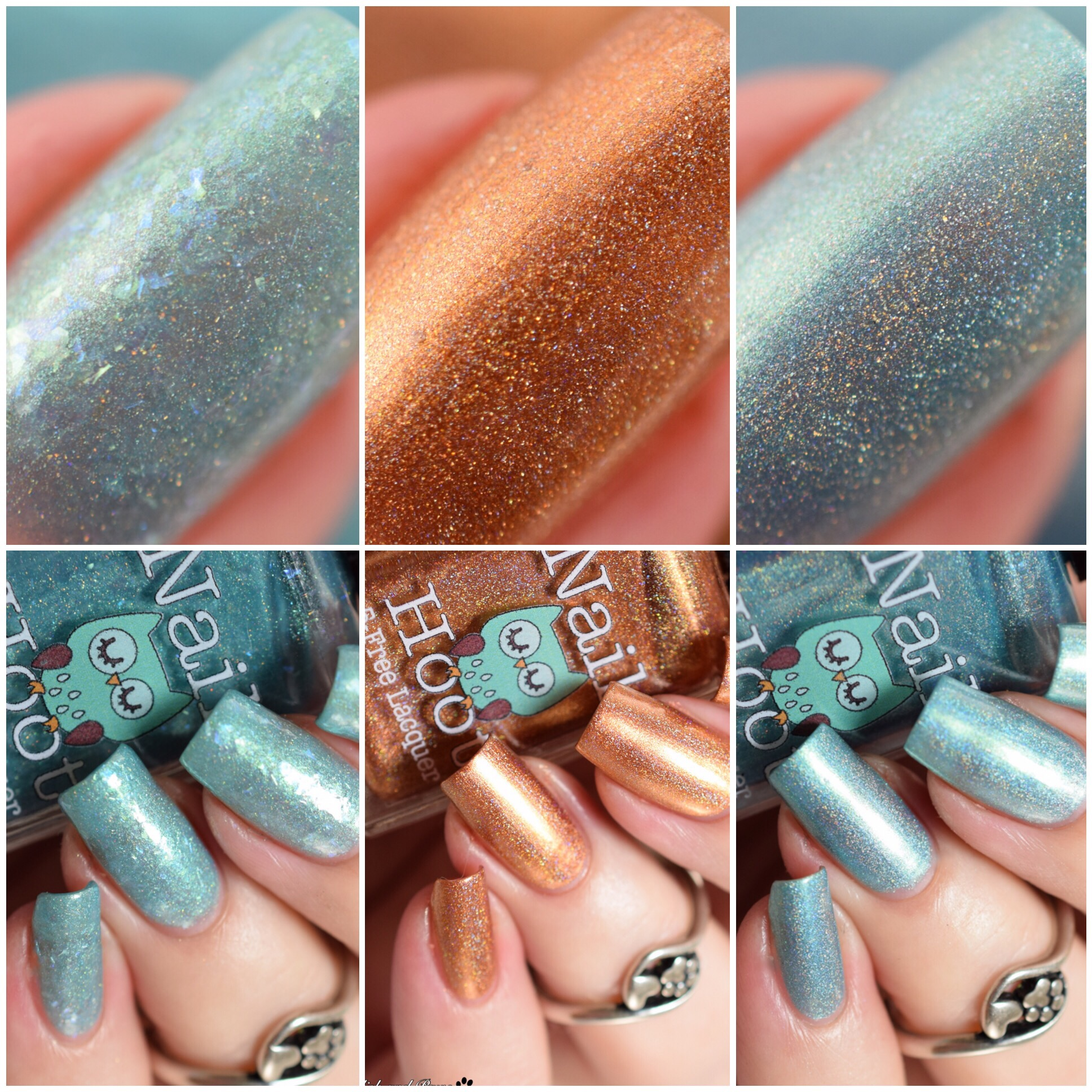 Nail Hoot Birthstone Polishes