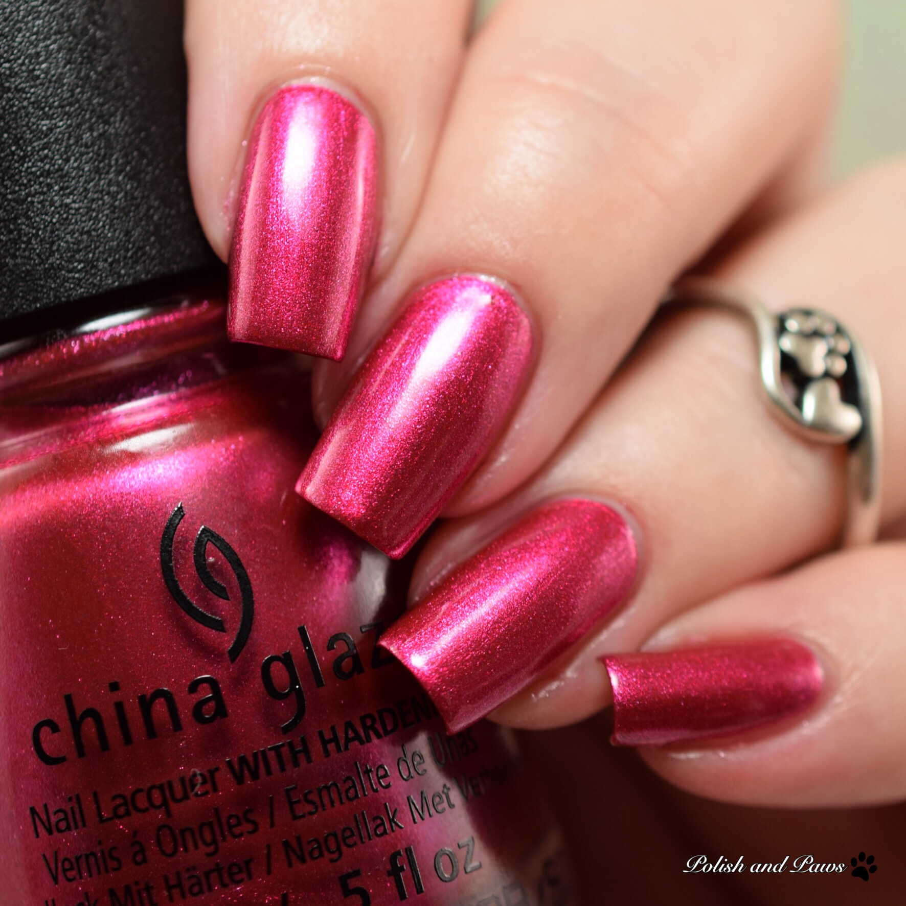 China Glaze The More The Berrier