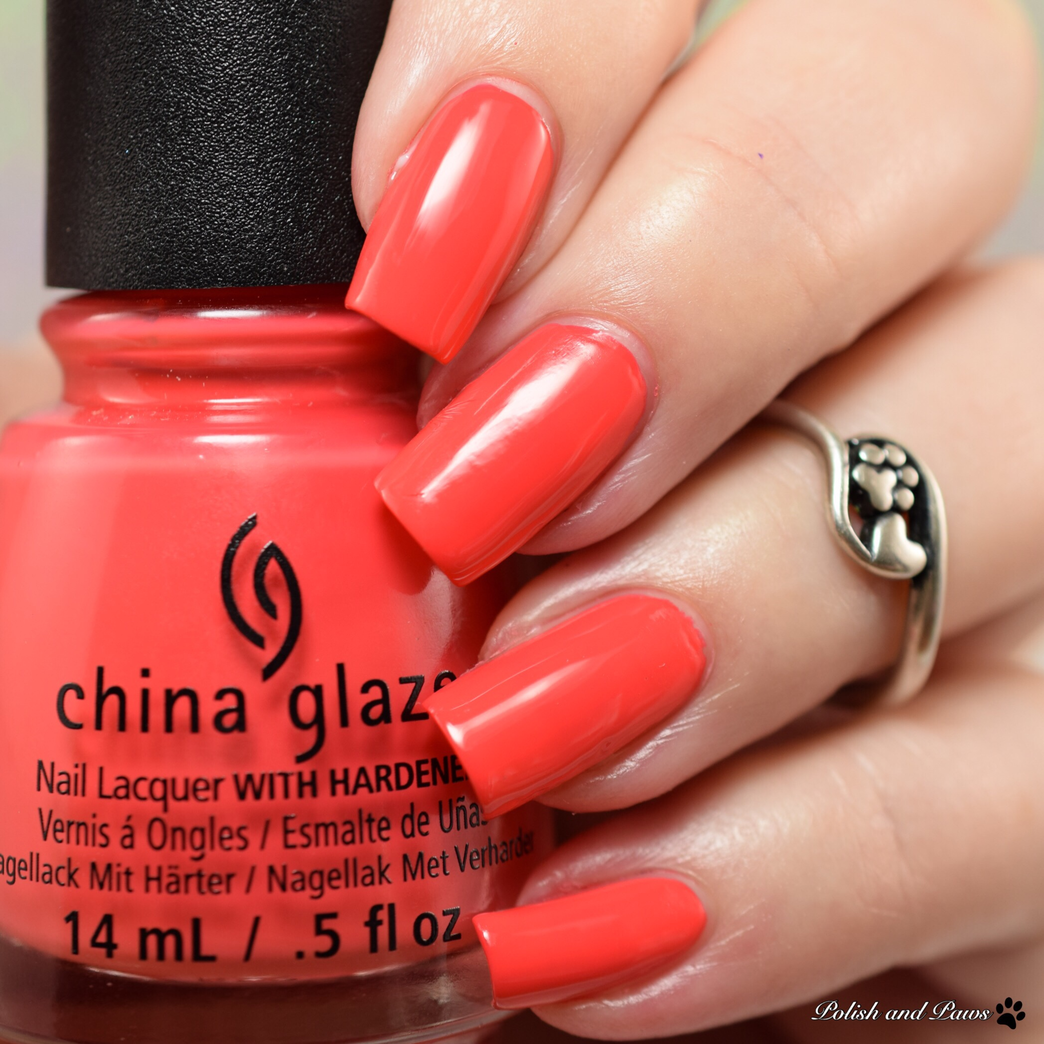 China Glaze Tis The Sea Sun