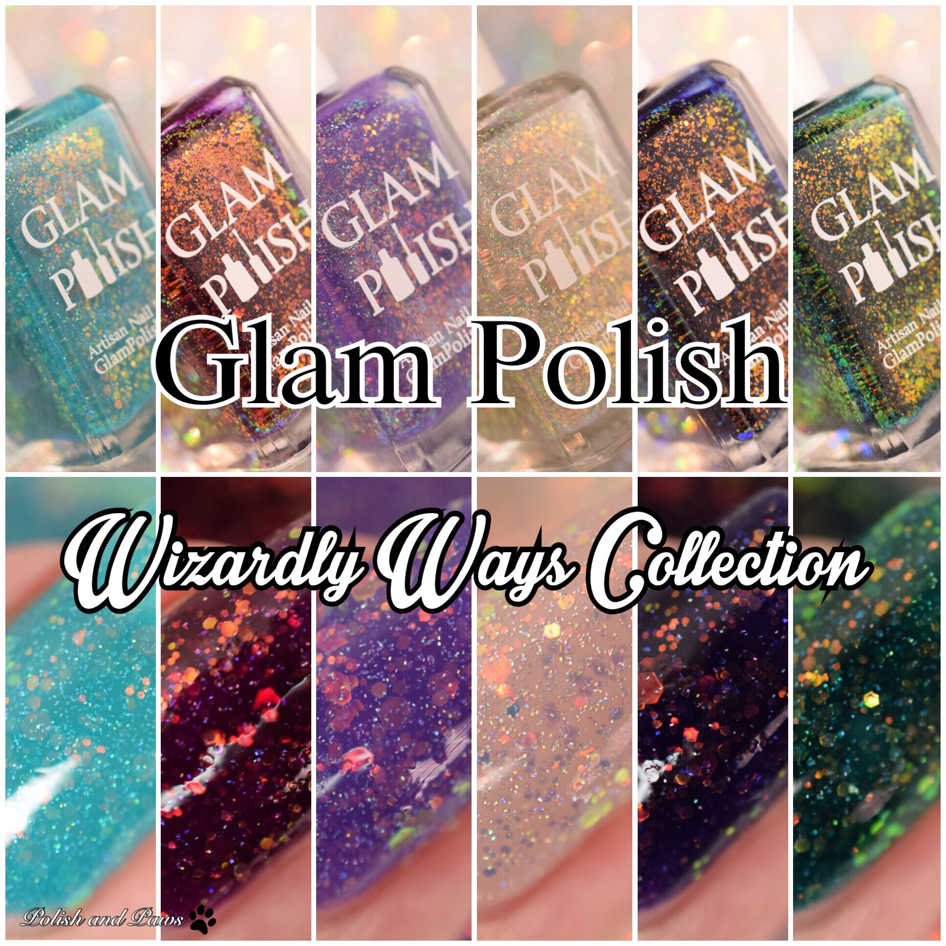 Glam Polish Wizardly Ways Collection
