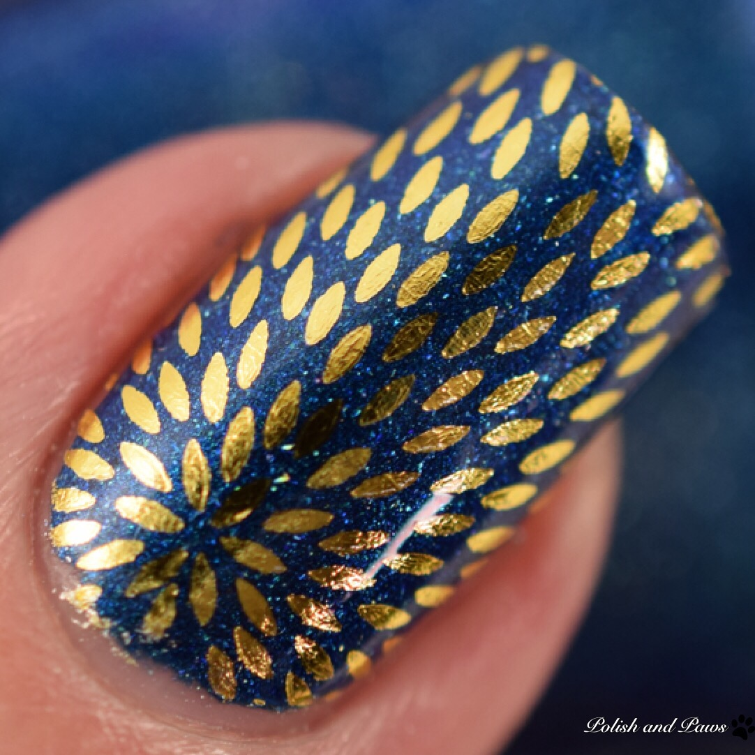 MILV Gold Flare Water Decals over CbL Fast Eddie