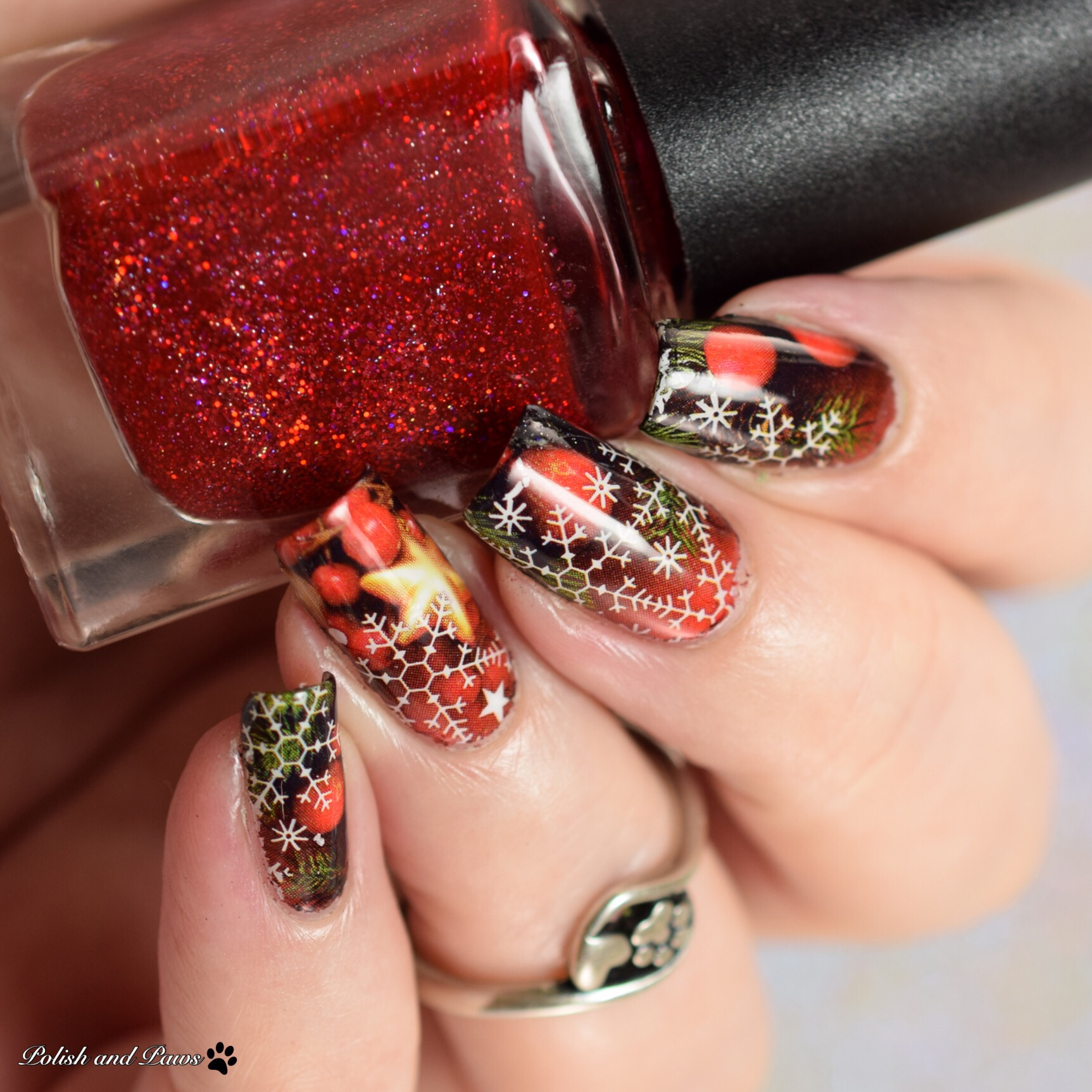MILV Holiday Water Decals