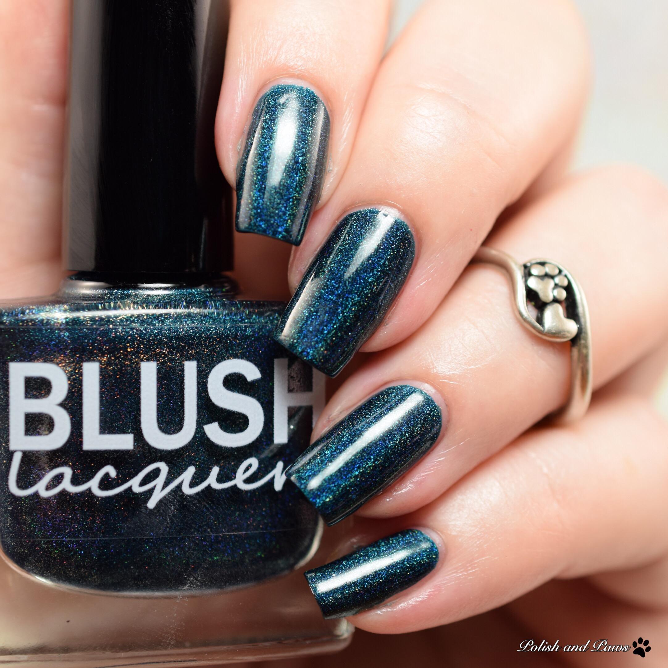 Blush Lacquers Mistletoe Kisses