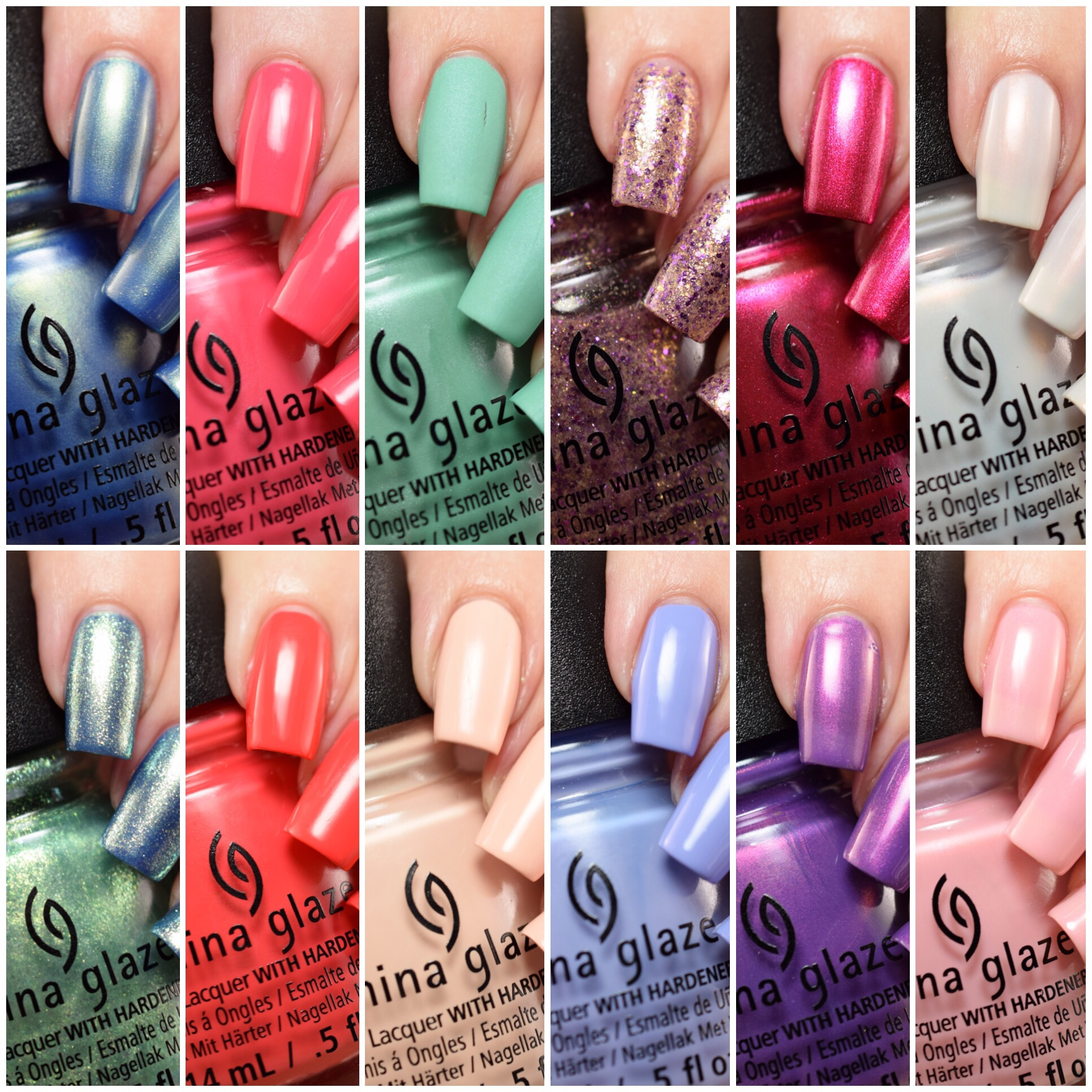 China glaze seas and greetings collection holiday 2016 polish in fact they went so far outside the box that they ended up on the beach celebrating seas and greetings lets take a look china glaze m4hsunfo