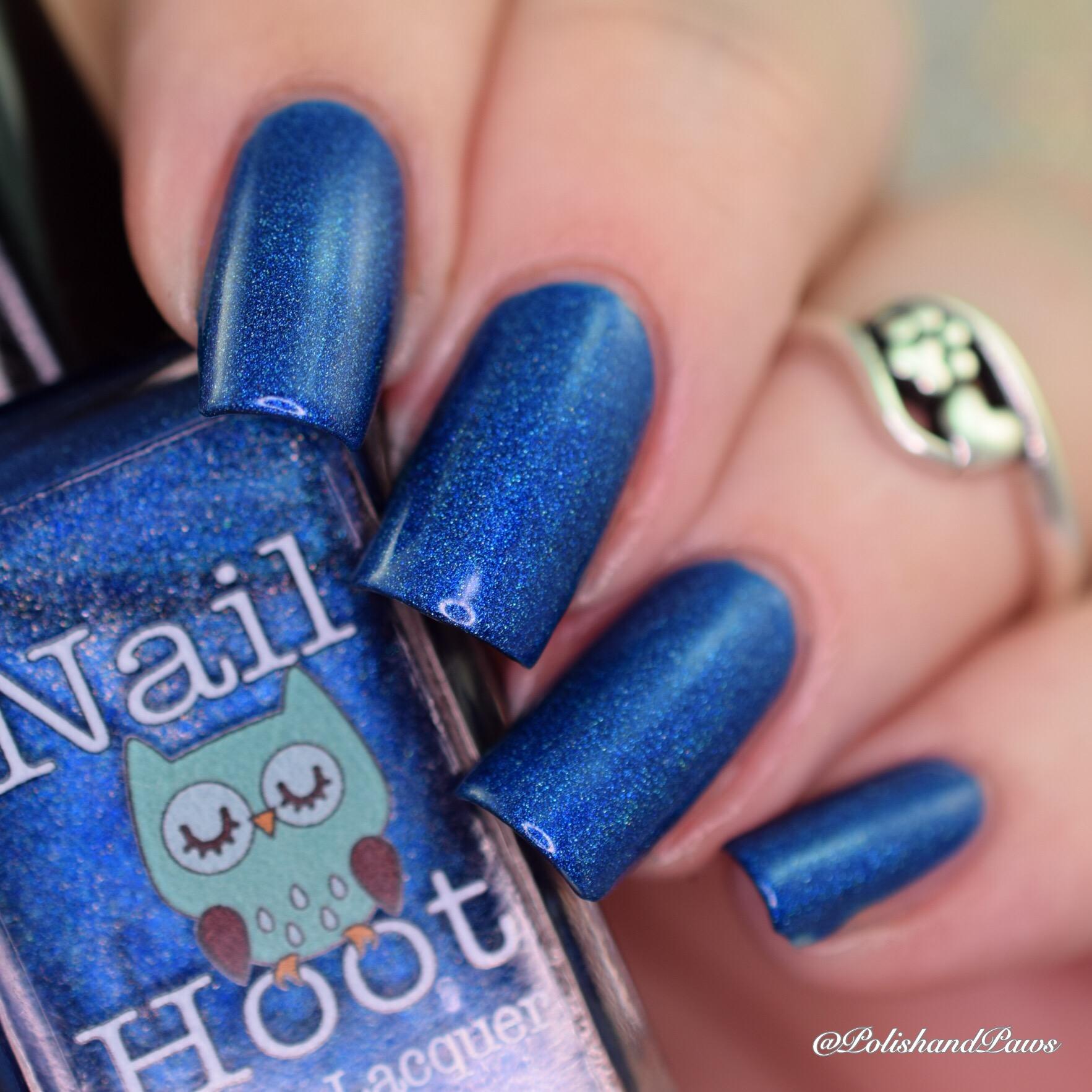 Nail Hoot Sapphire
