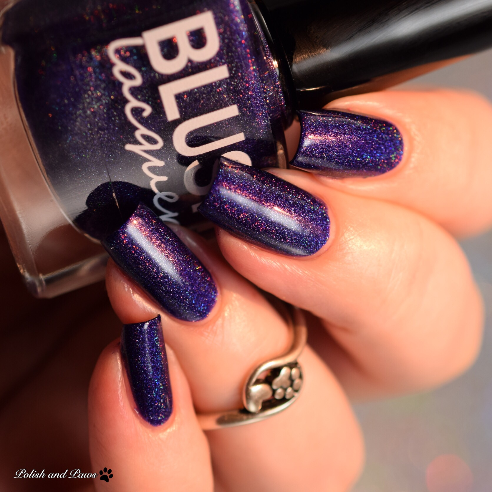 Blush Lacquers Midnight Sleigh Ride