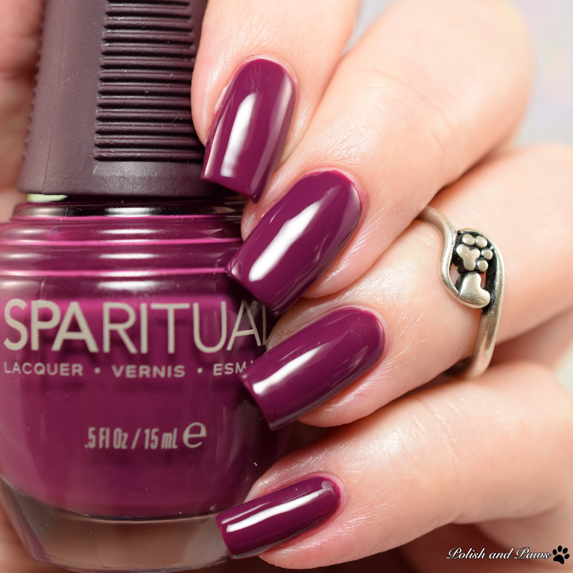 SpaRitual Polish Swatch & Review | Polish and Paws