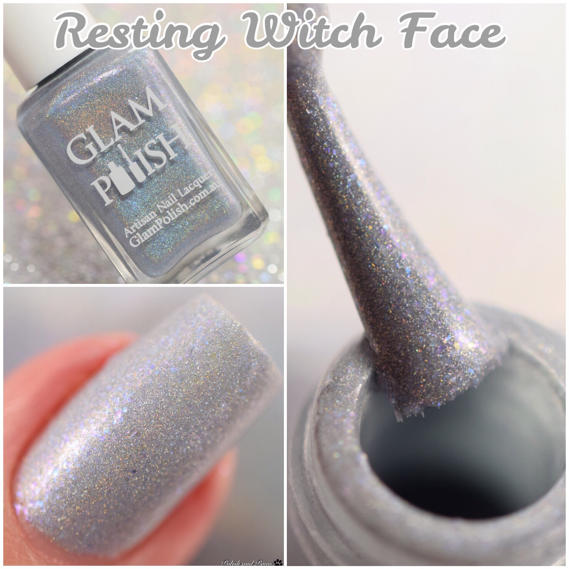 Glam Polish Resting Witch Face