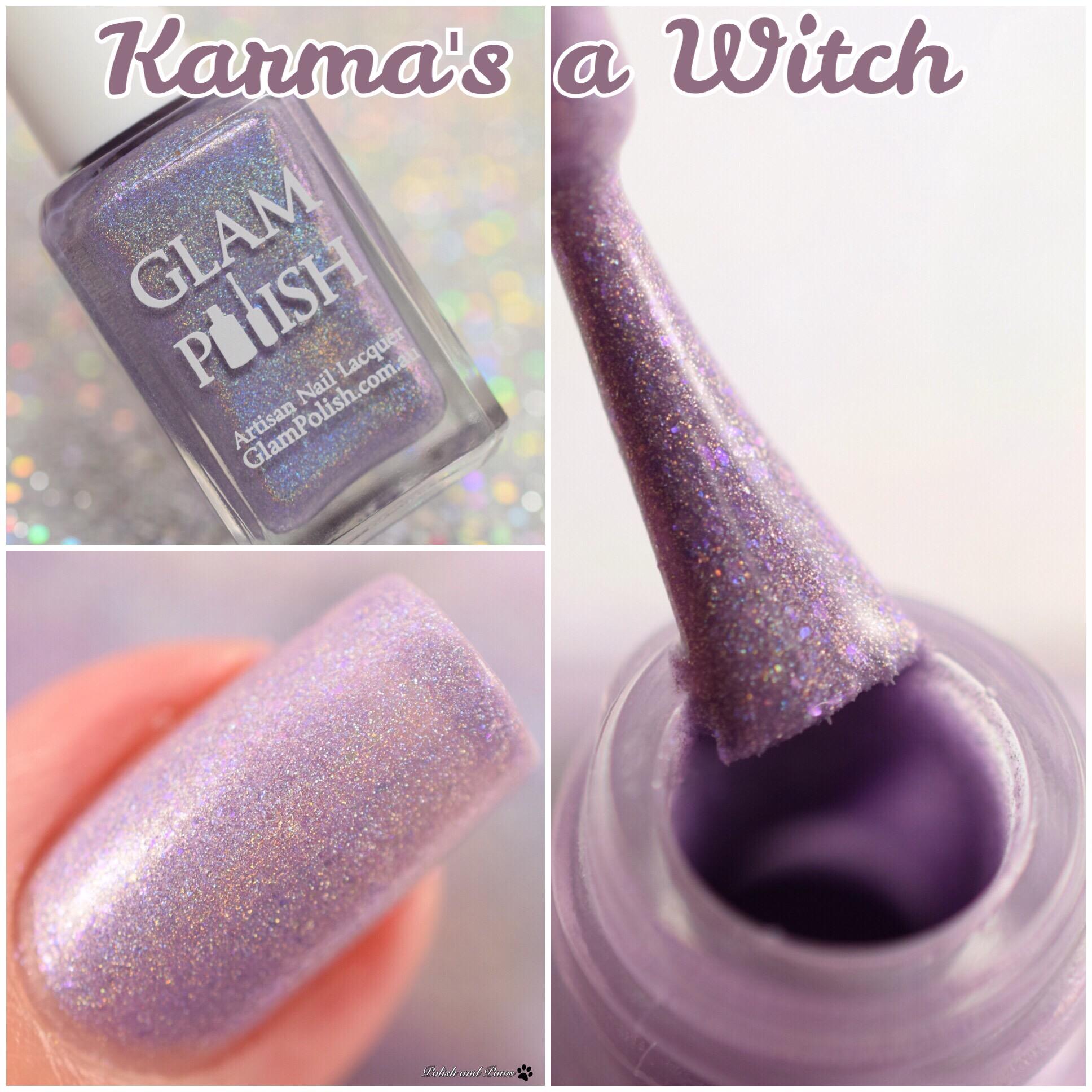 Glam Polish Karma's a Witch