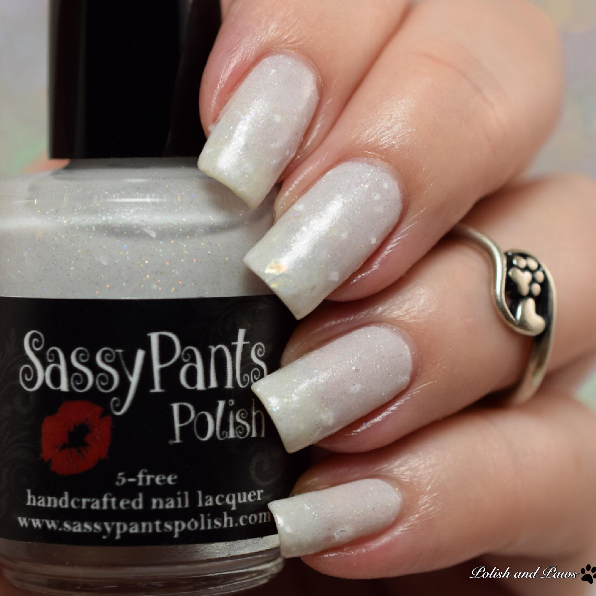 Sassy Pants Polish New Fallen Snow