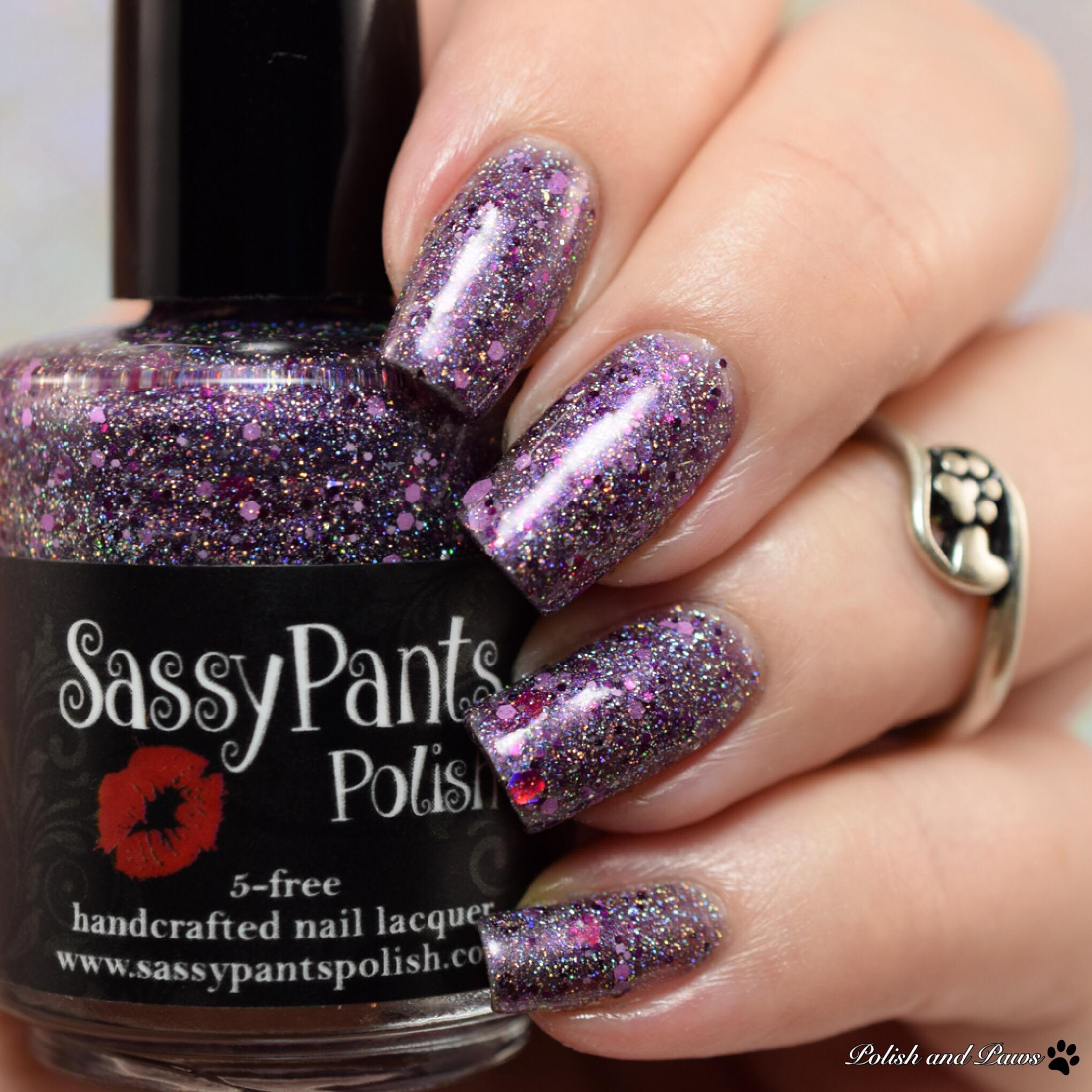 Sassy Pants Polish Visions of Sugar Plums