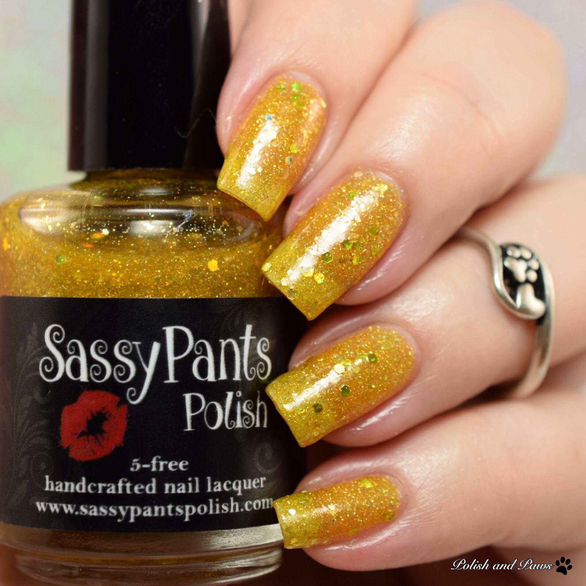 Sassy Pants Polish Lustre of Mid-Day