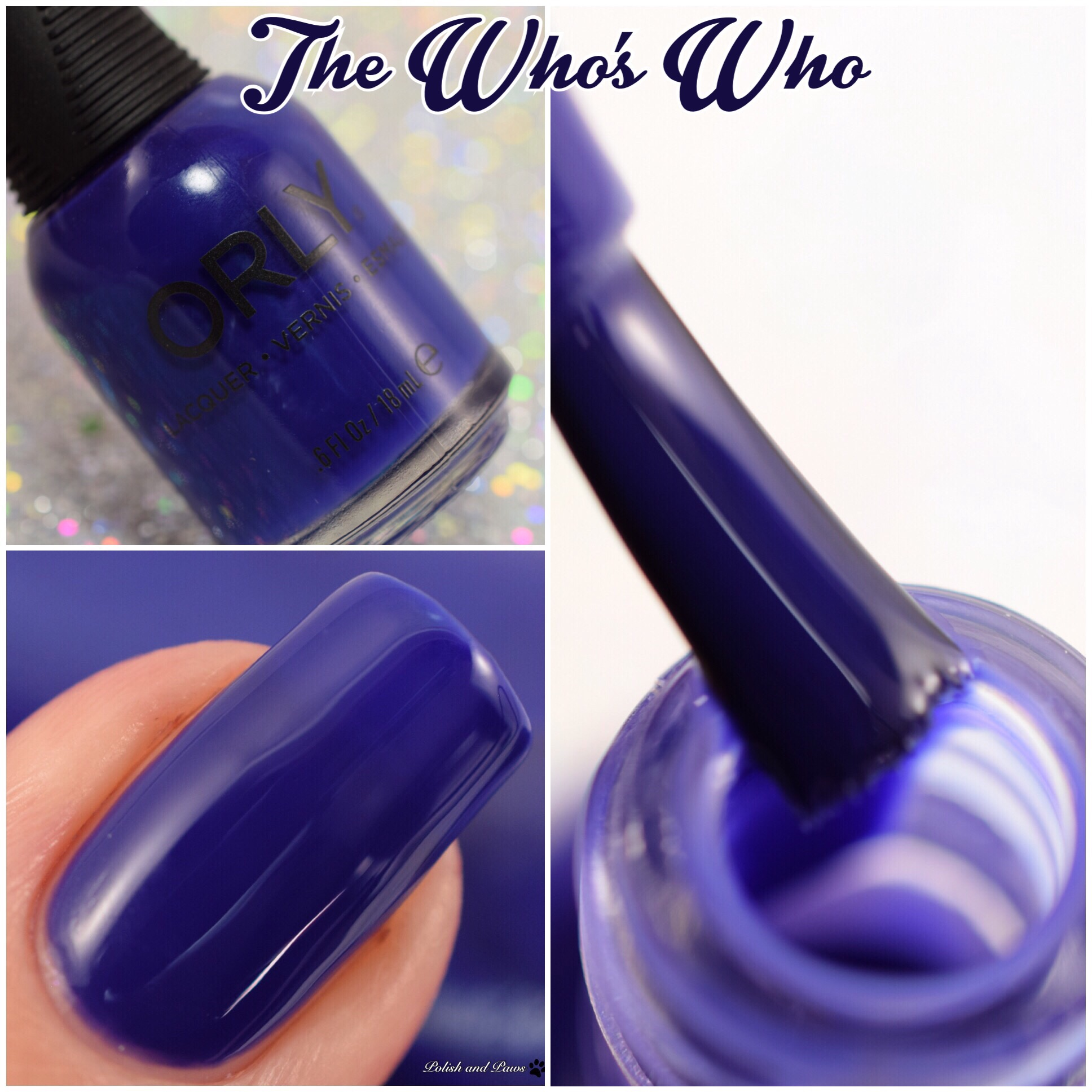Orly The Who's Who