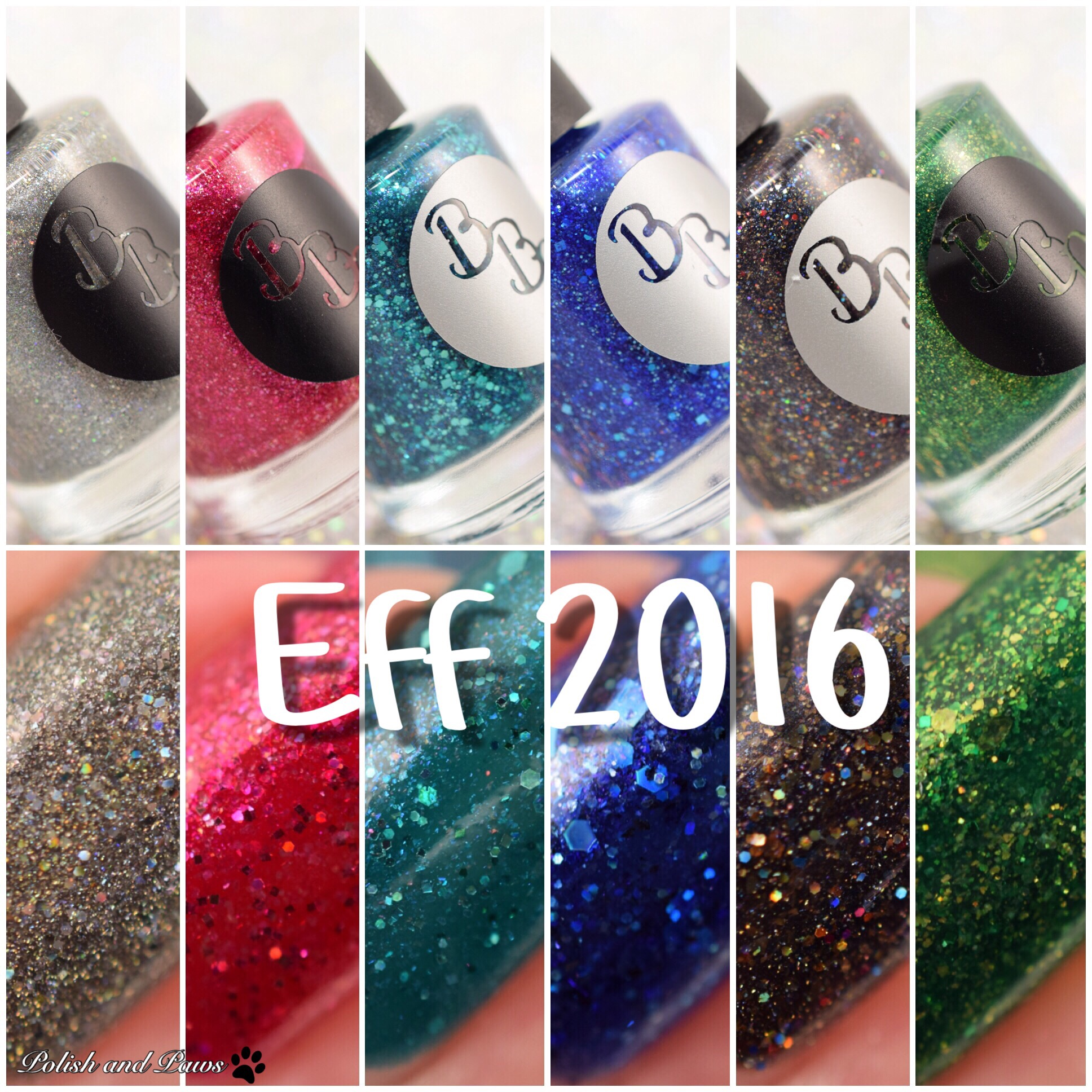 Bad Bitch Polish Eff 25 Collection   Polish and Paws