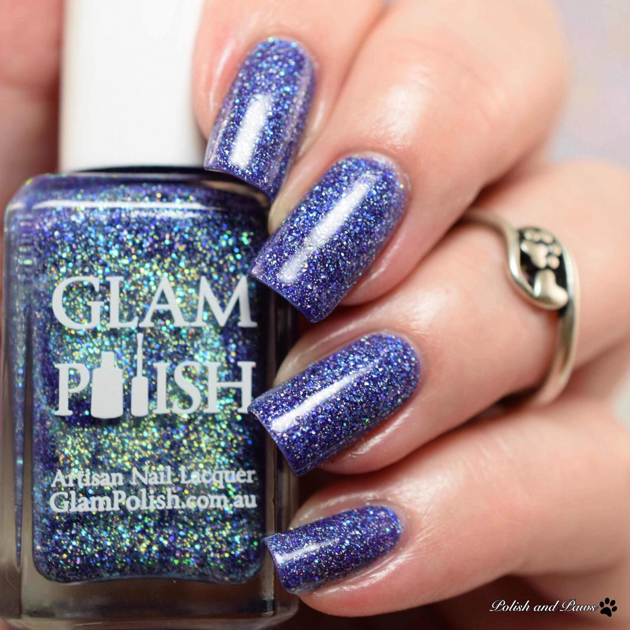 Glam Polish You're Cruisin' for a Bruisin'