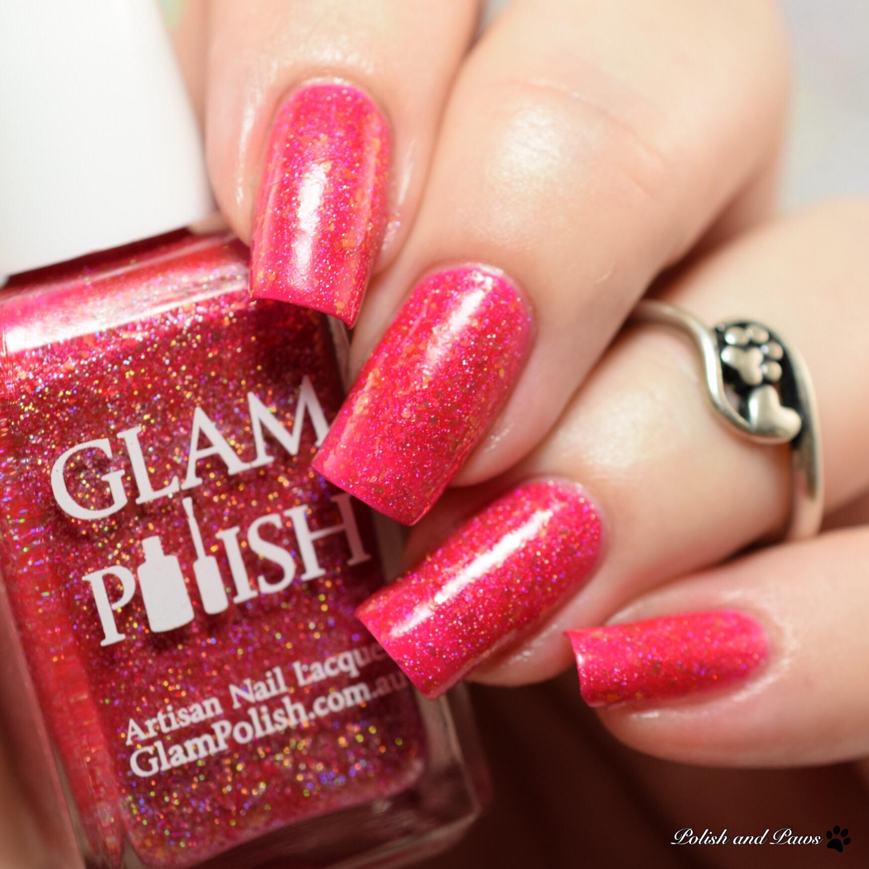 Glam Polish Peachy Keen, Jelly Bean