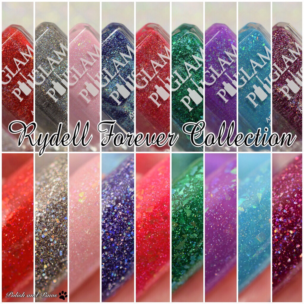 Glam Polish Limited Edition Rydell Collection