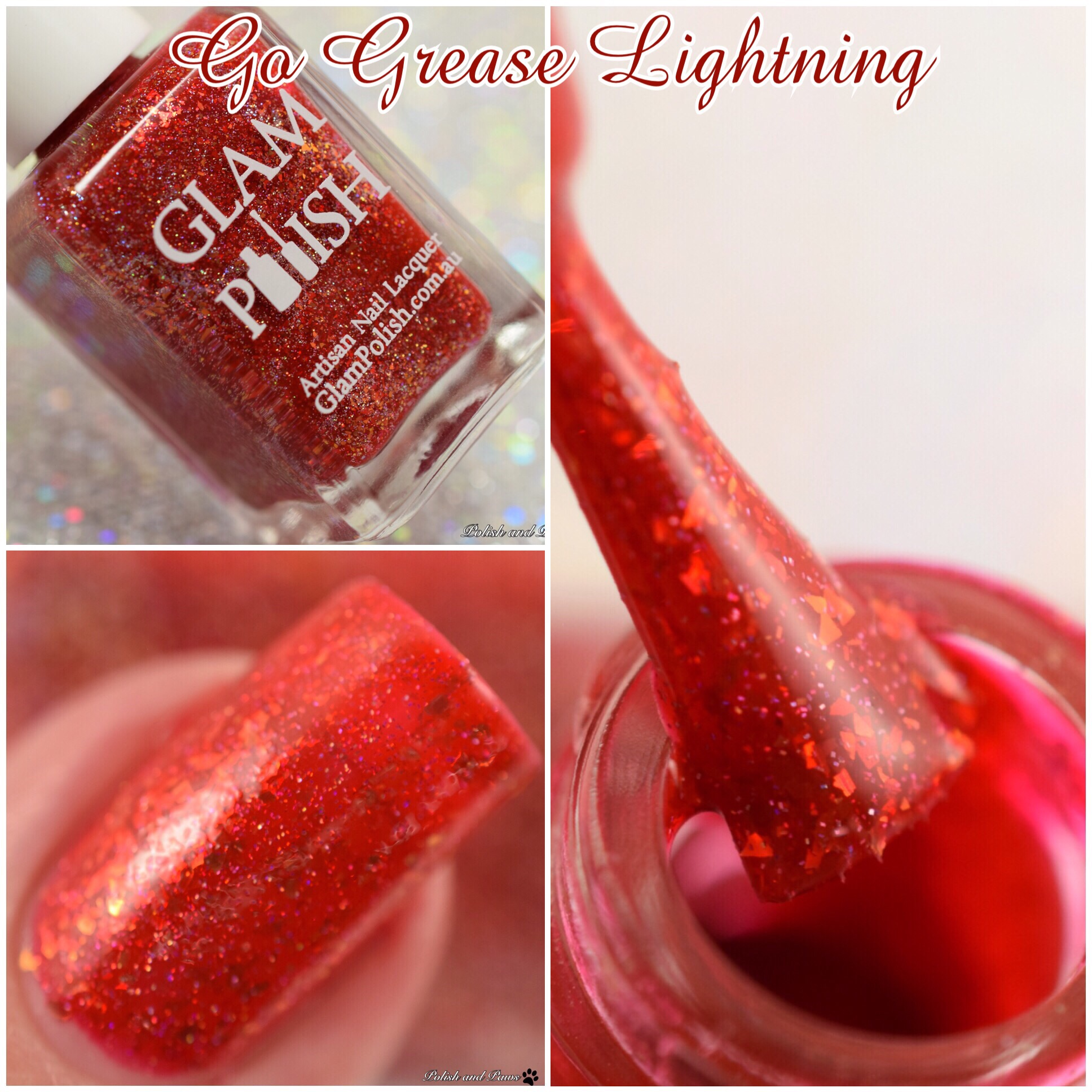 Glam Polish Go Grease Lightning