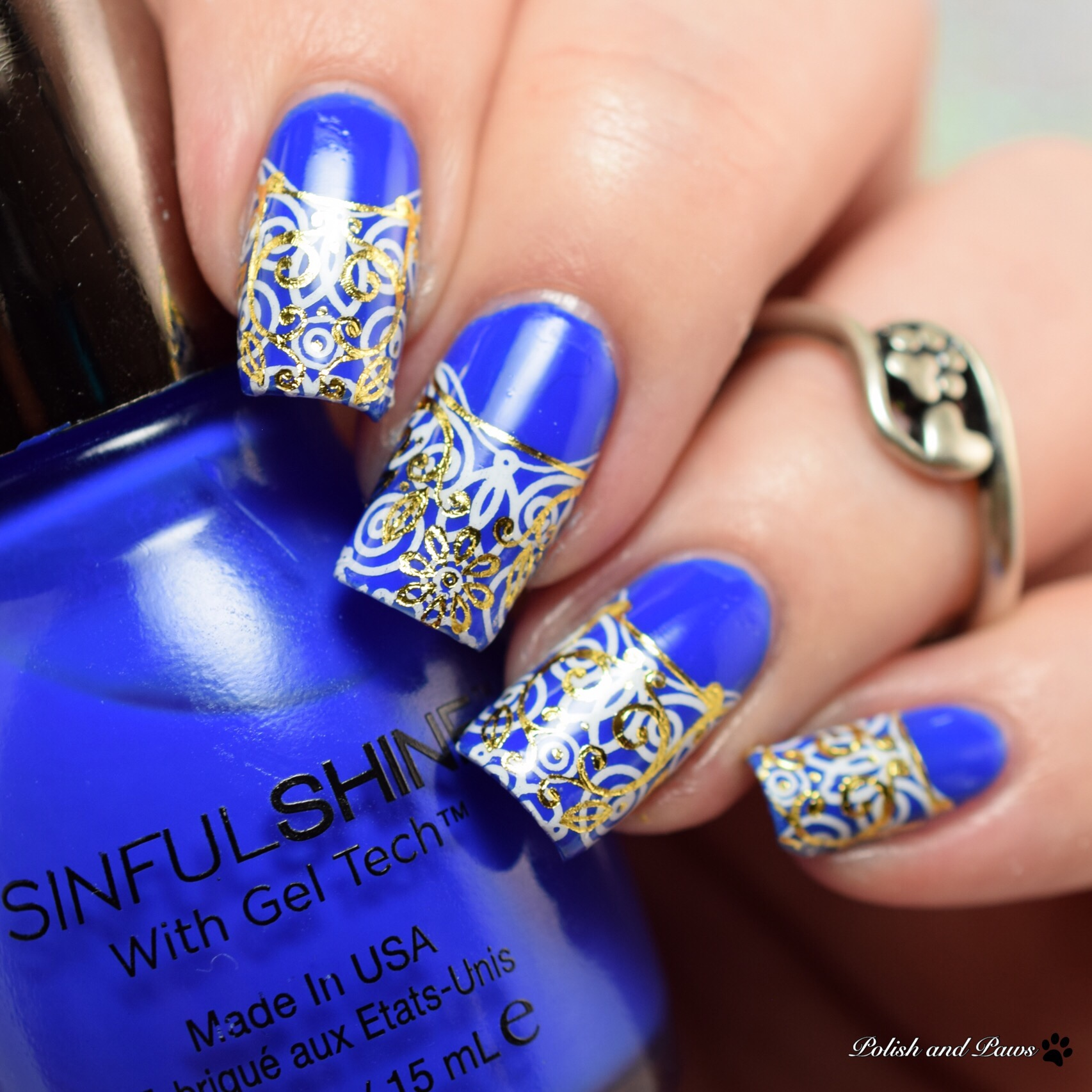 MILV Nail Art Water Decals with Sinful Colors Most Sinful
