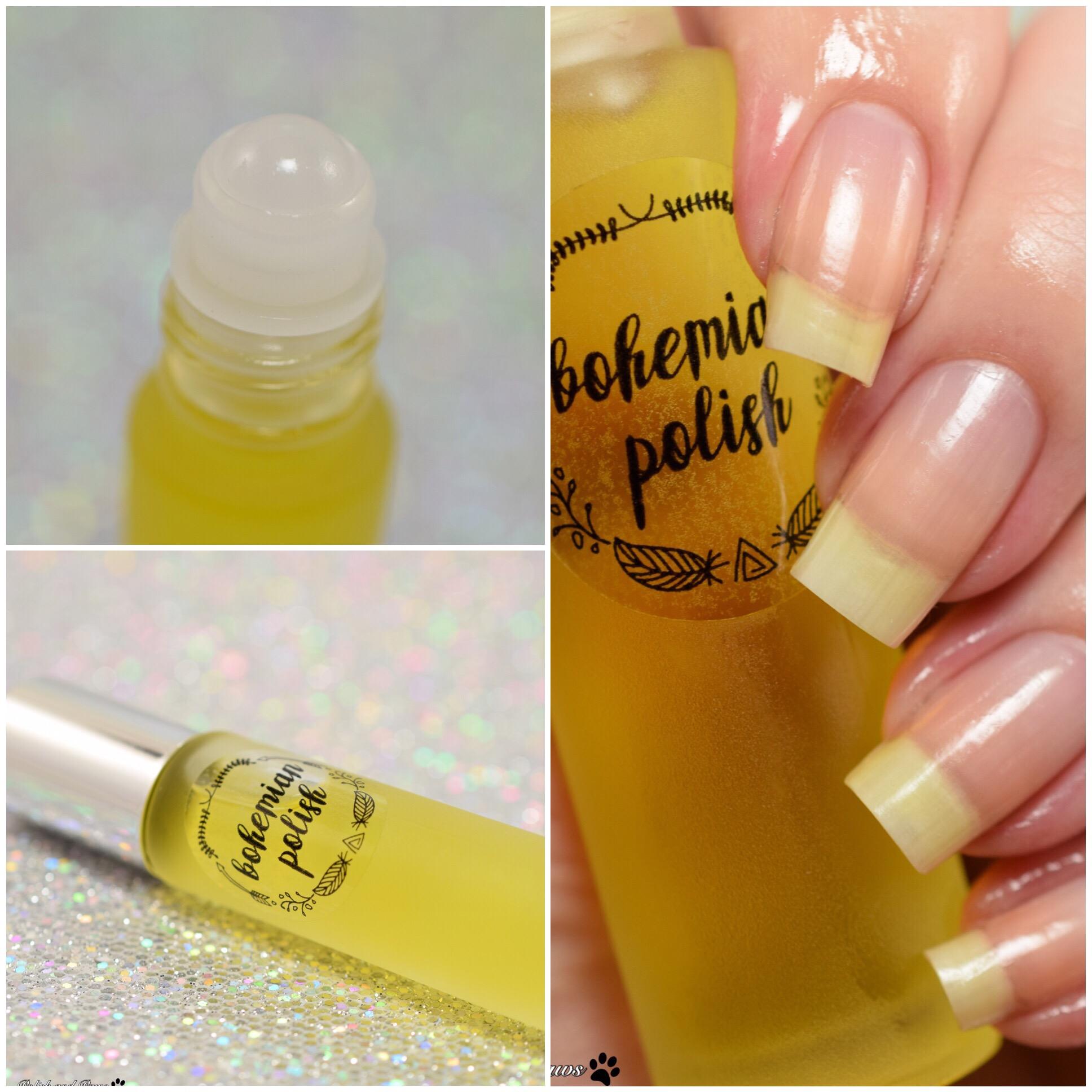 Bohemian Polish Butterbeer Cuticle oil