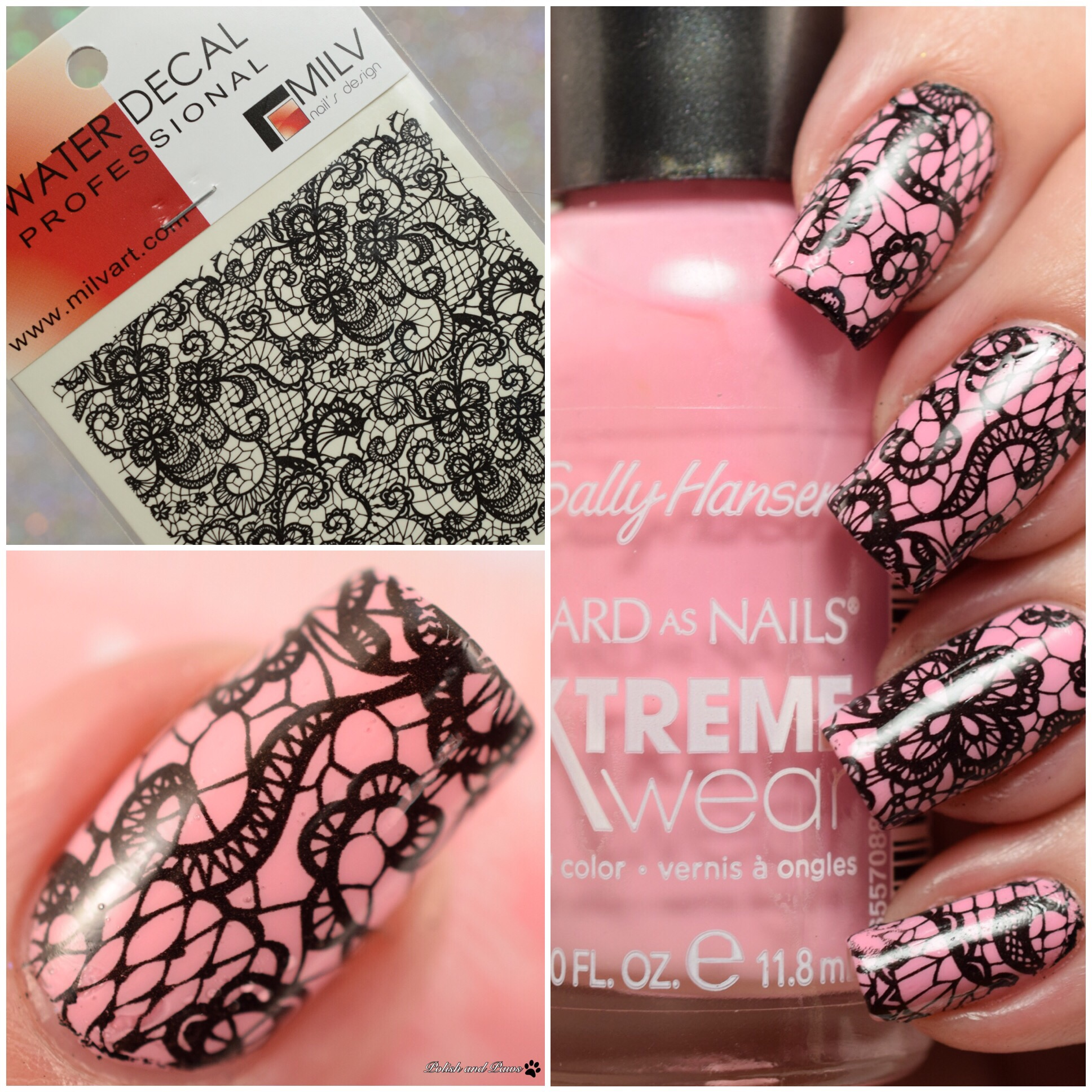 MILV Nail Art Water Decals