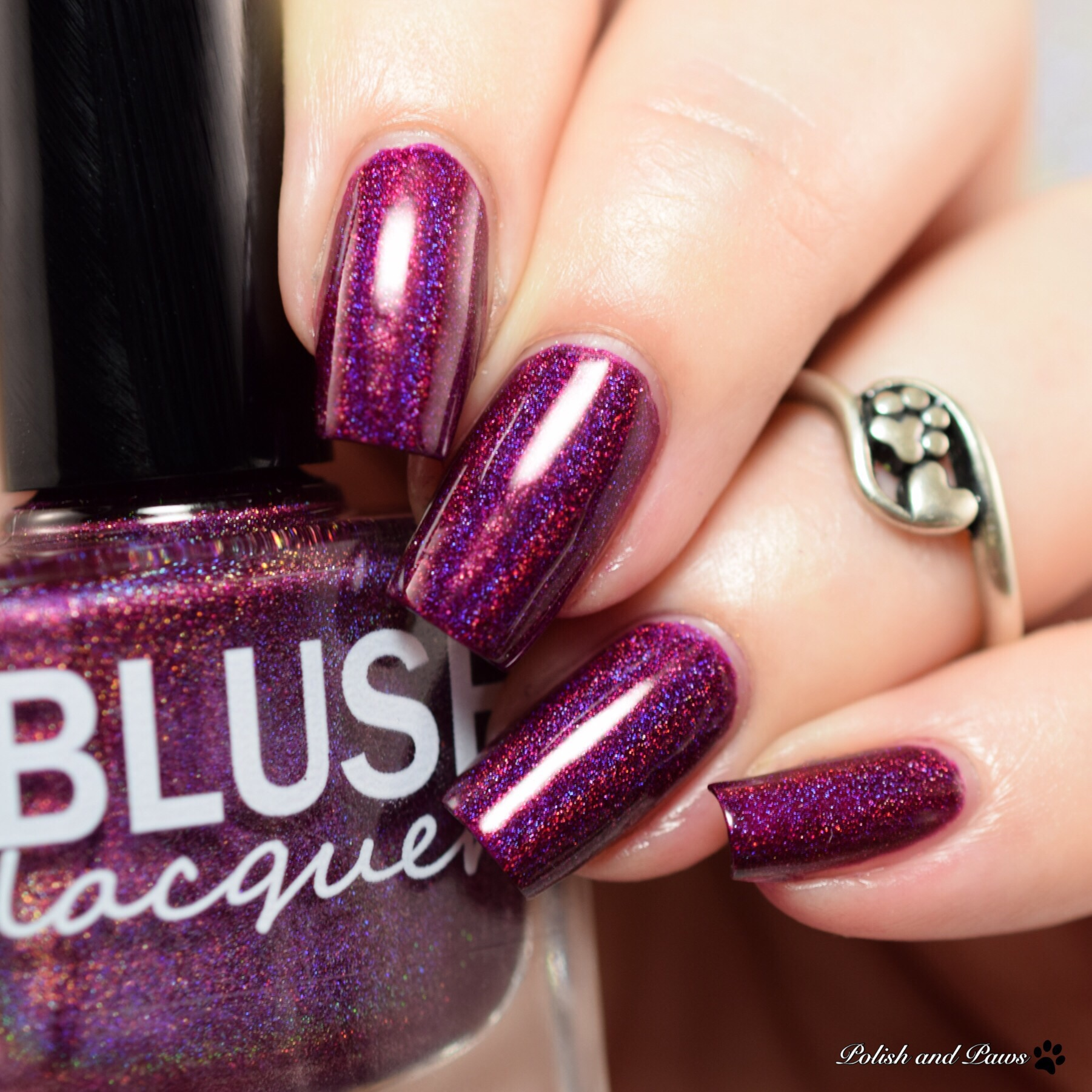 Blush Lacquers Sugar Plum Fairy