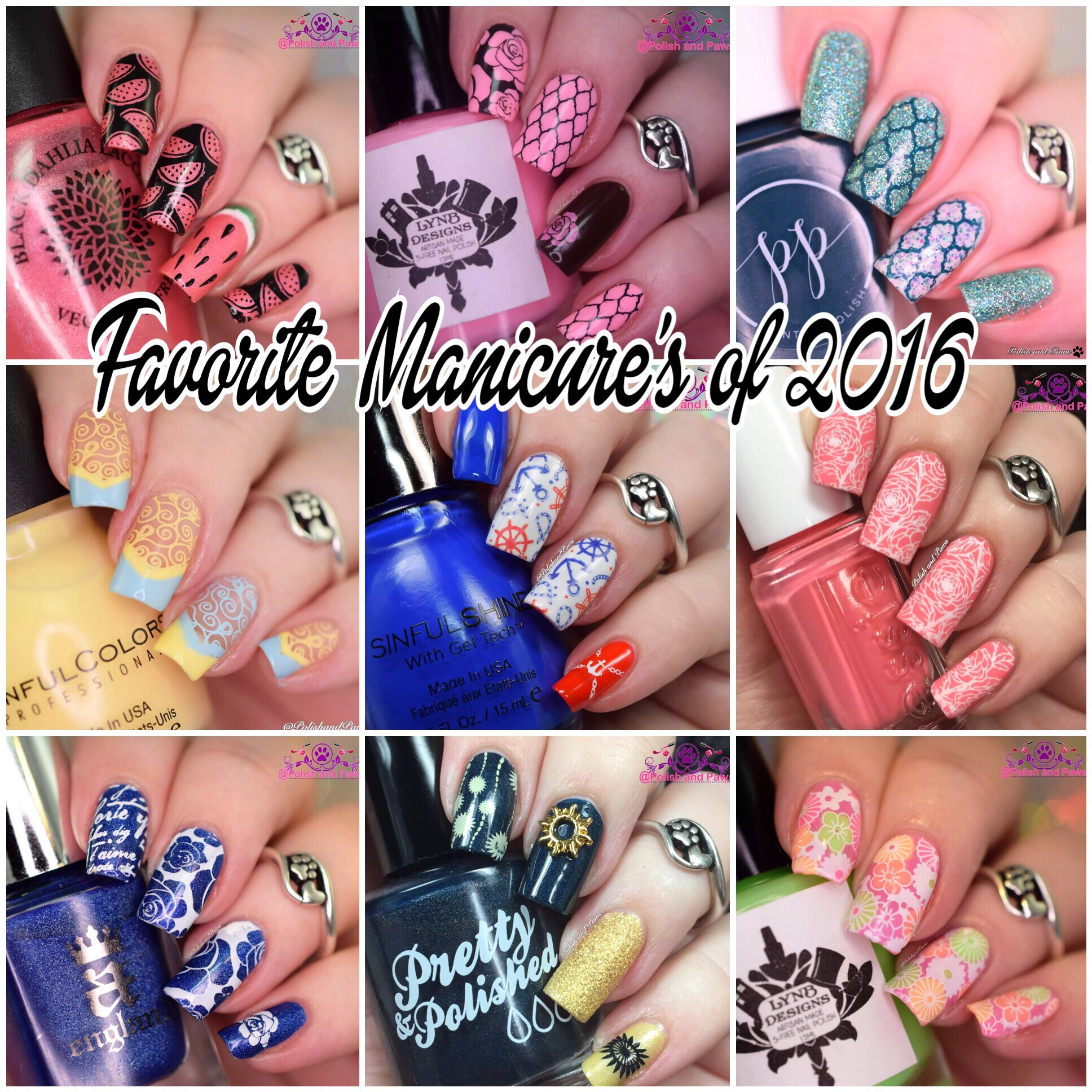 Favorite Manicures of 2016