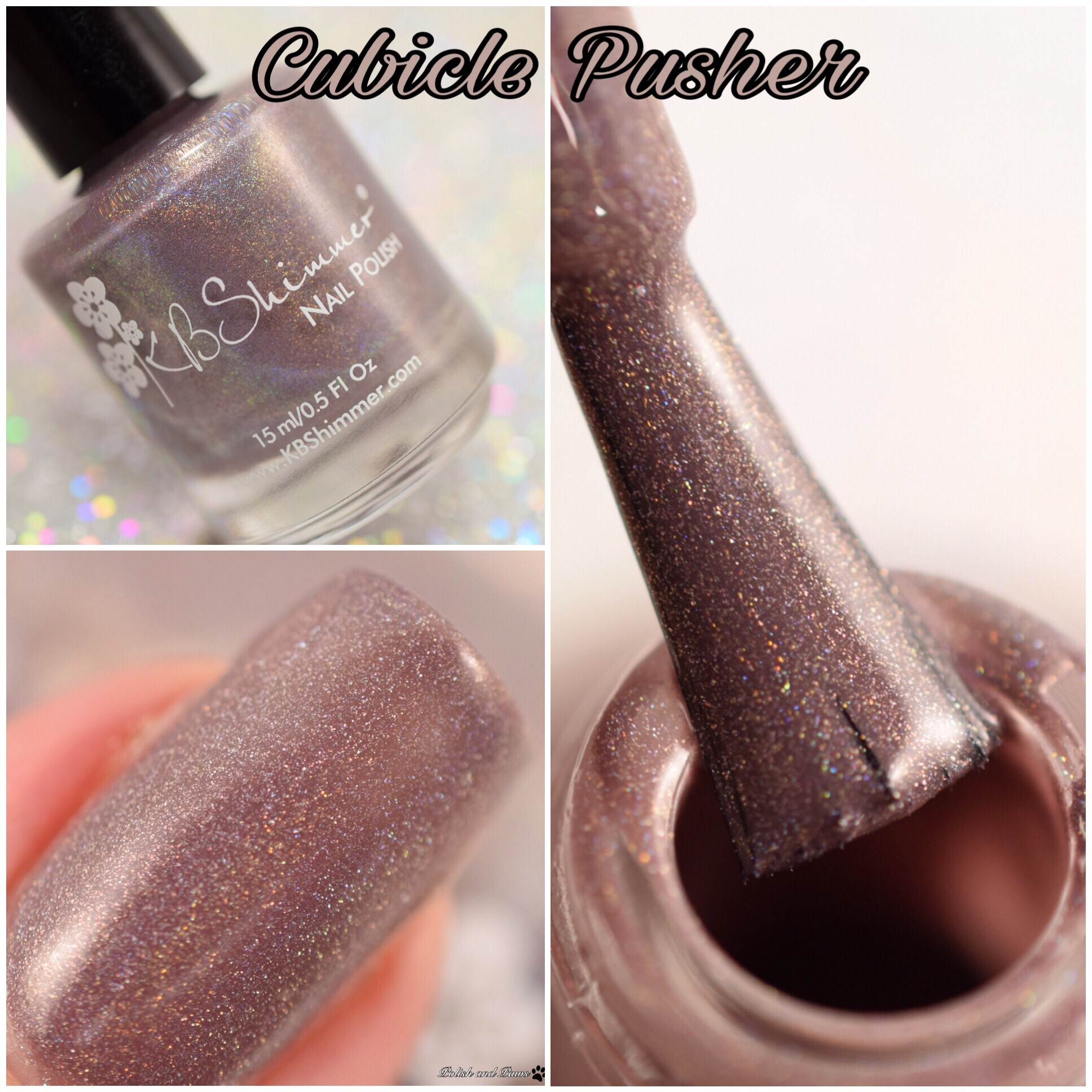 KBShimmer Cubicle Pusher