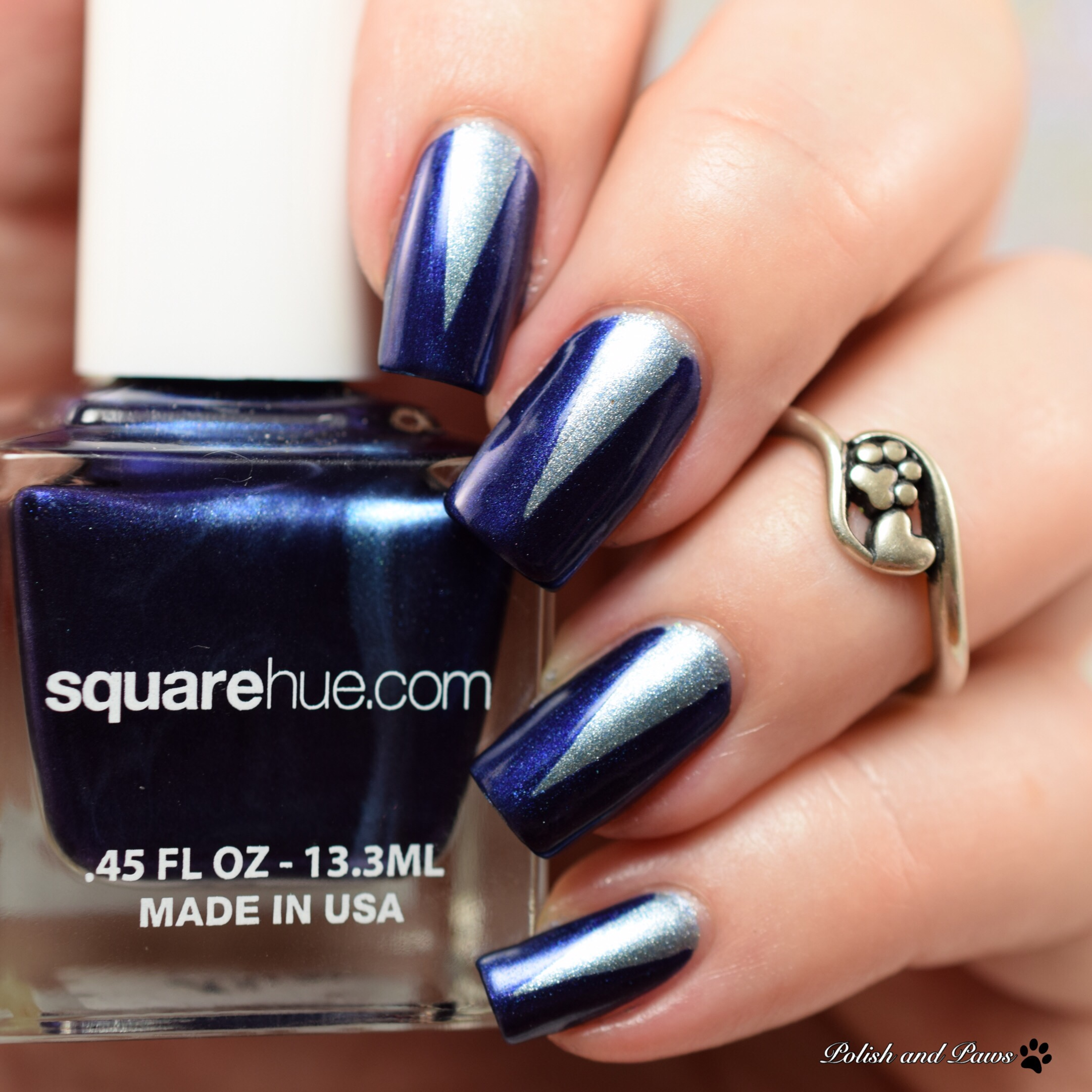 Triangle Vinyls with Square Hue Golpe and Media Luna