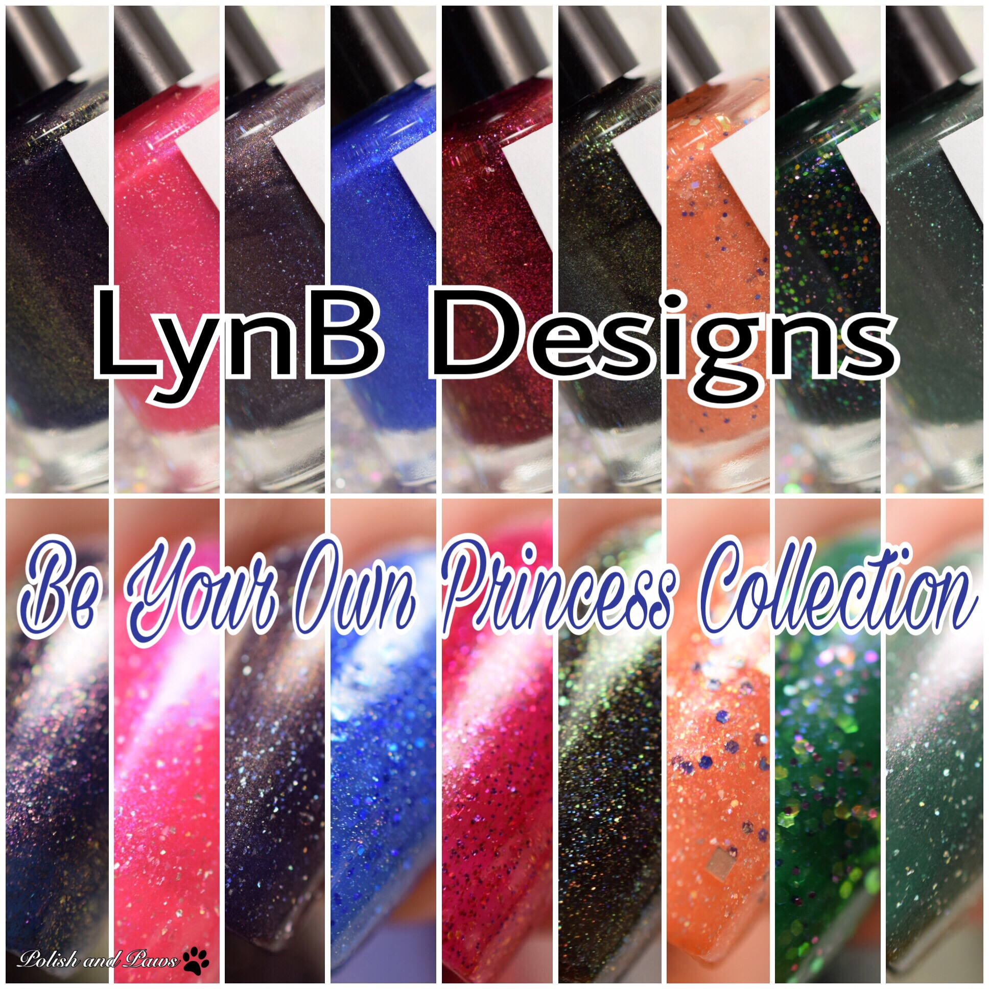 LynB Designs Be Your Own Princess Collection