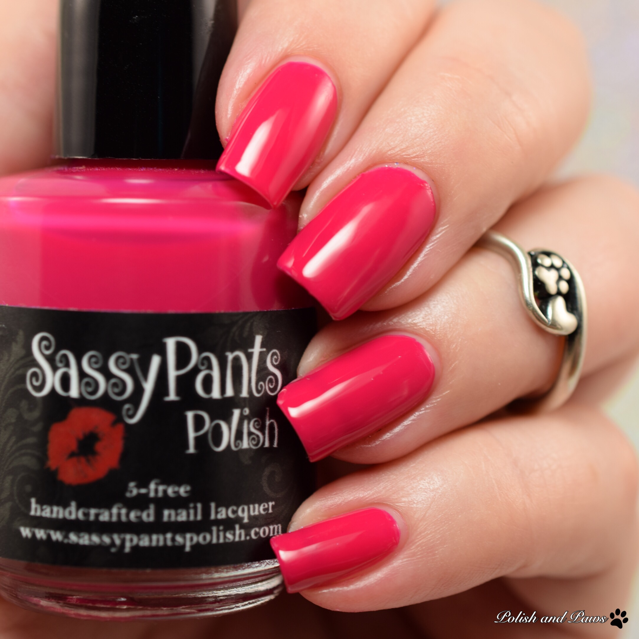 Sassy Pants Polish Kiss Off!