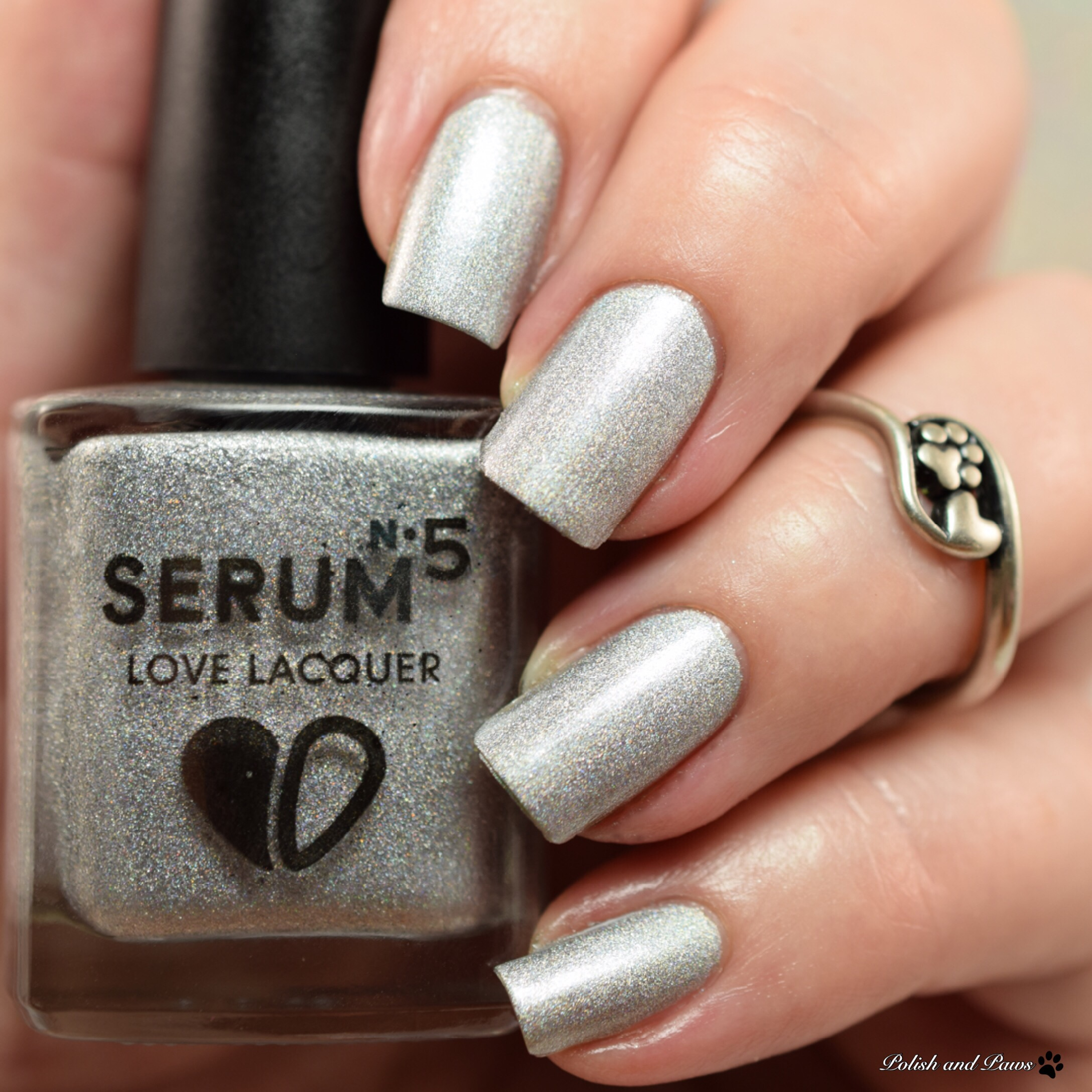 Serum No 5 Lucky Colors Collection | Polish and Paws