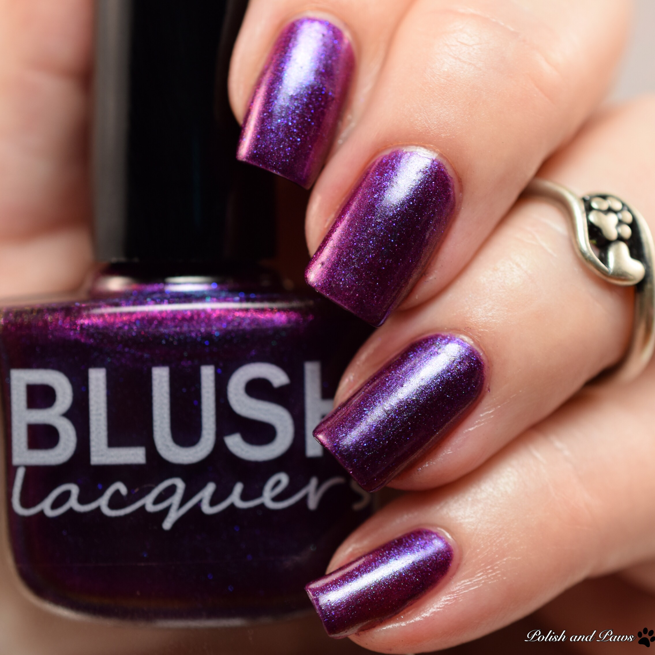 Blush Lacquers Lady of the Mask