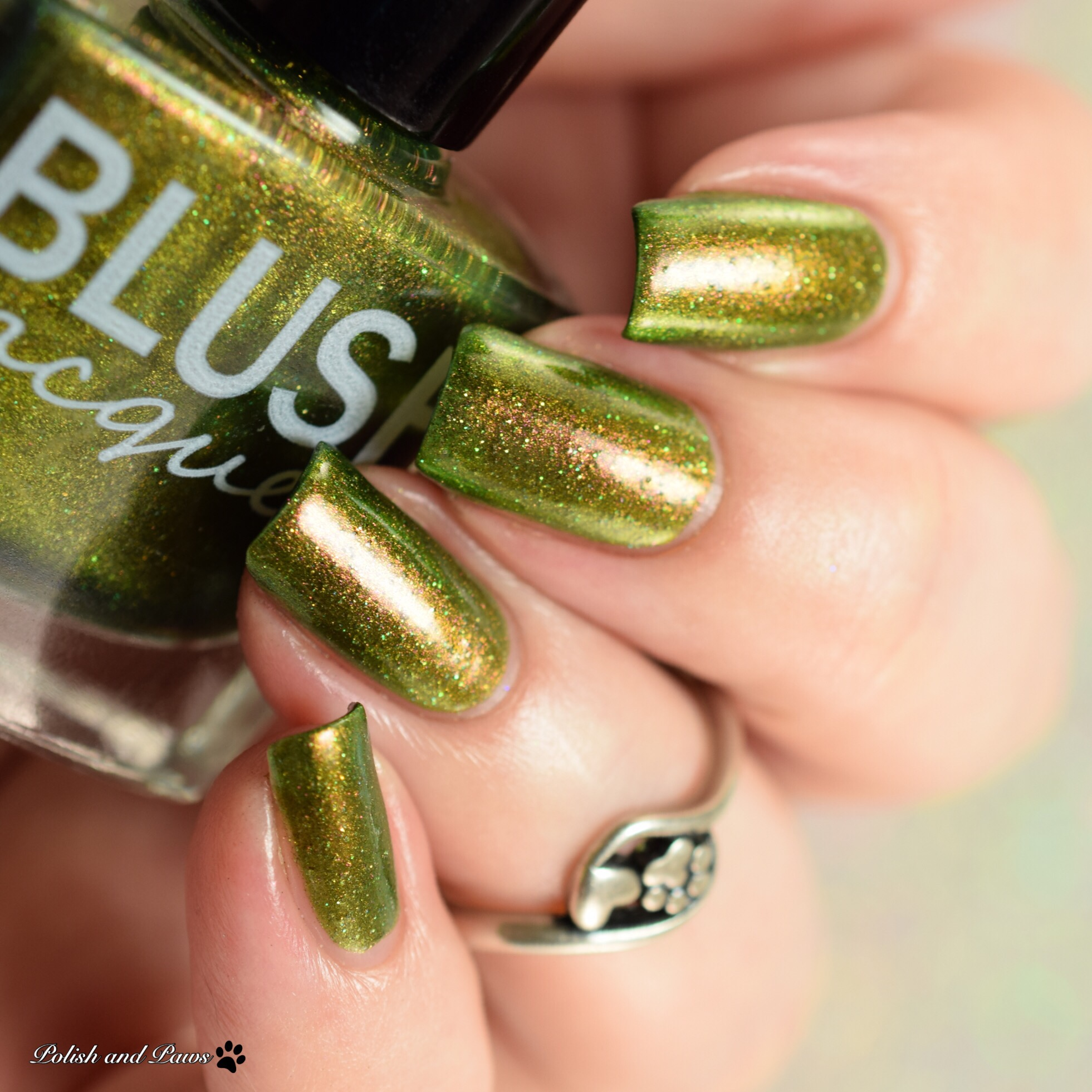 Blush Lacquers Candelabra-cadabra