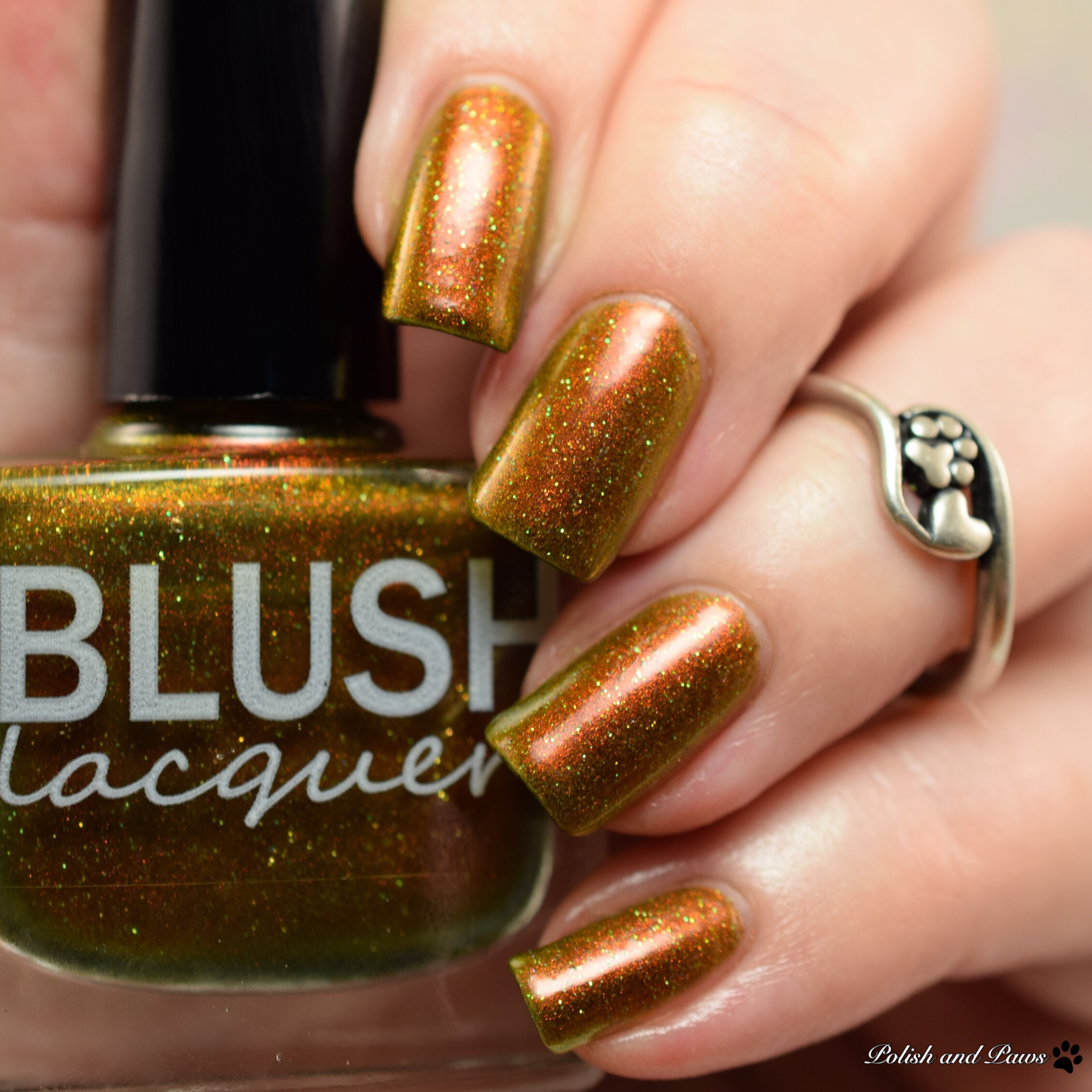 Blush Lacquers The Golden Hour
