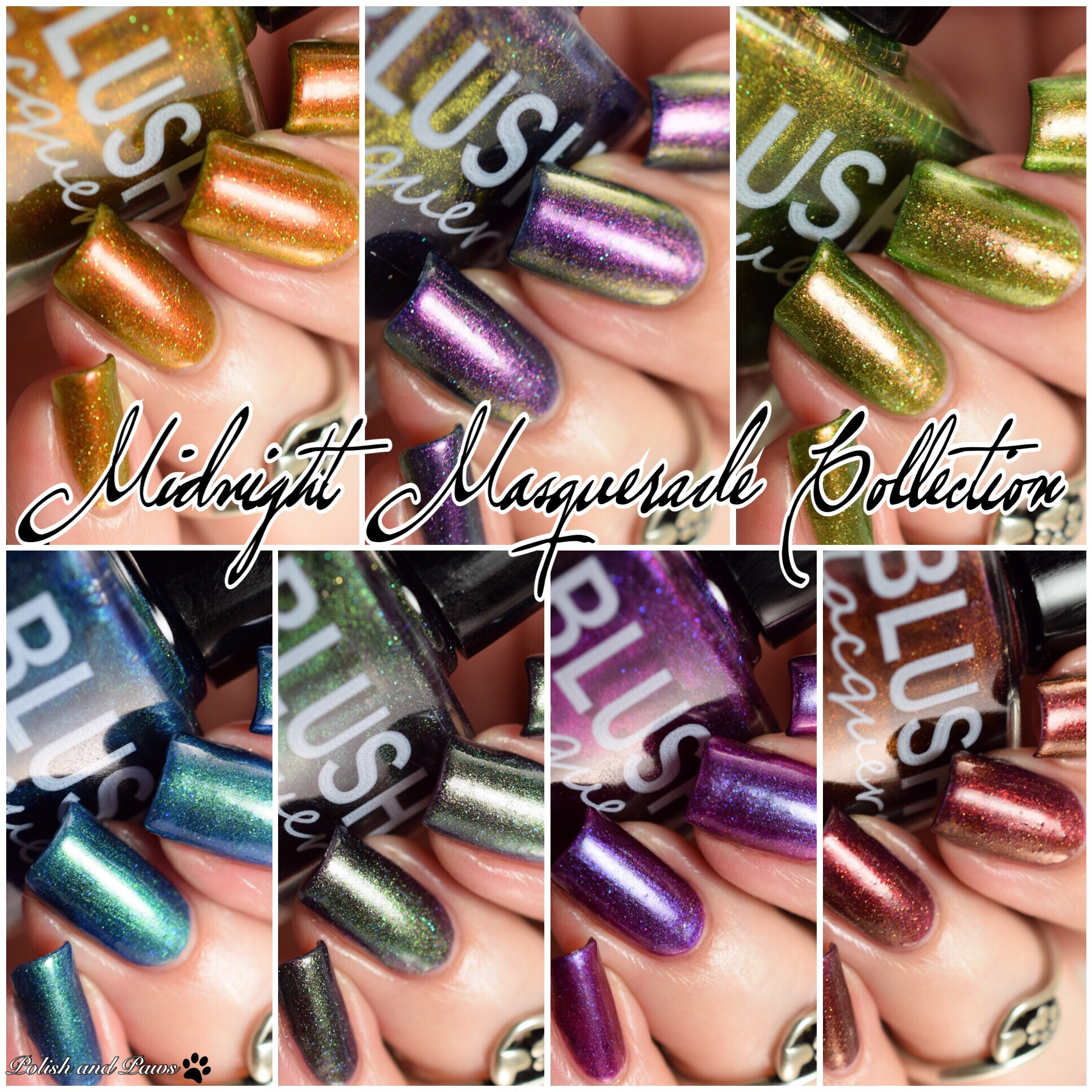 Blush Lacquers Midnight Masquerade Collection